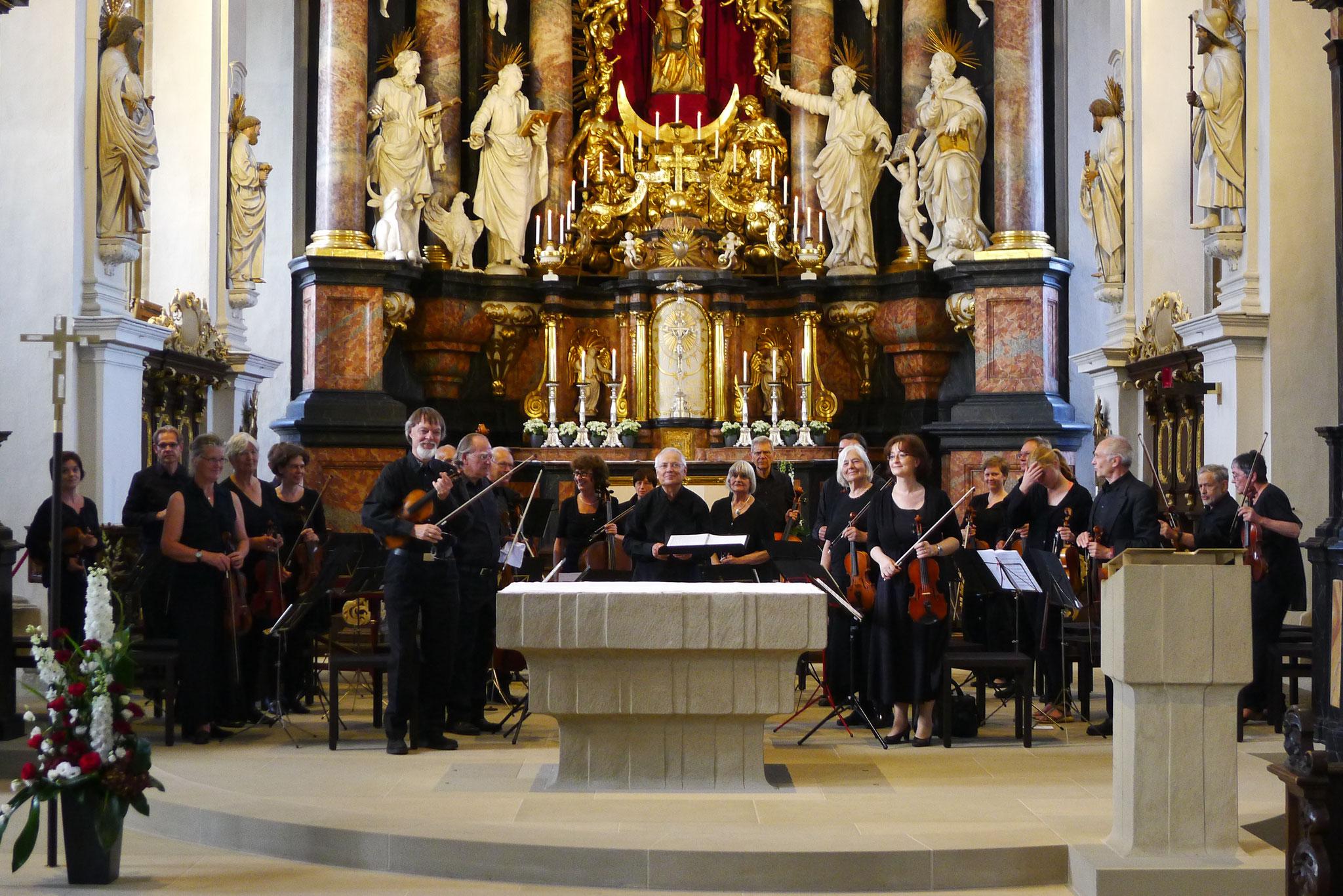 Obere Pfarre Bamberg - 13. Juni 2015