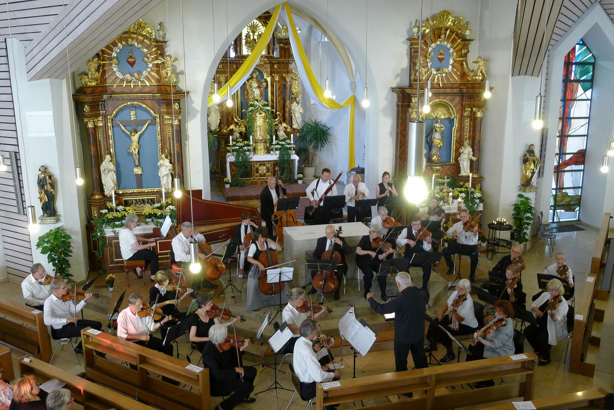 Katholische Pfarrkirche St. Peter und Paul Kemmern - 23. Juli 2017