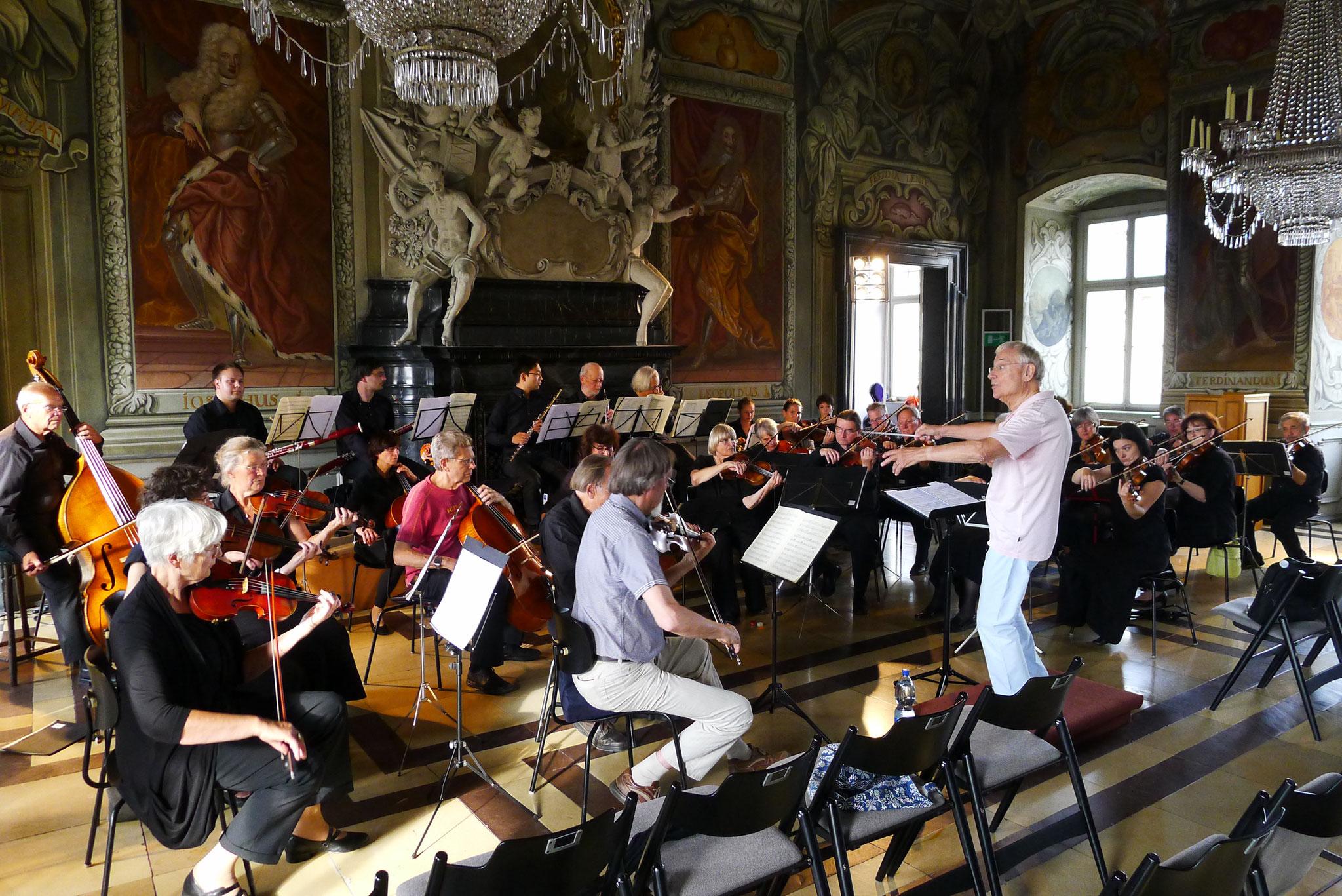 Kaisersaal der Neuen Residenz Bamberg - 27. Juni 2014