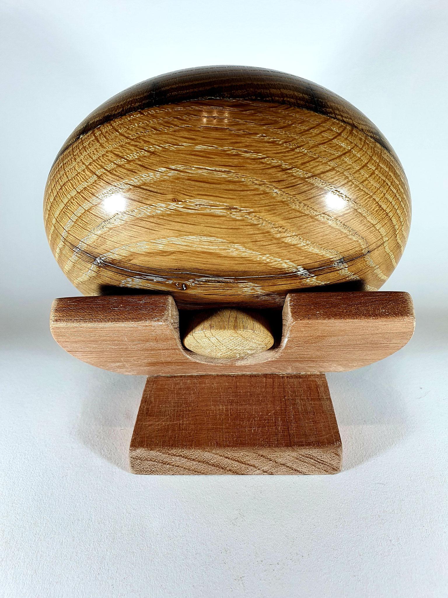 biologische design urn 300 ml  hout: eiken