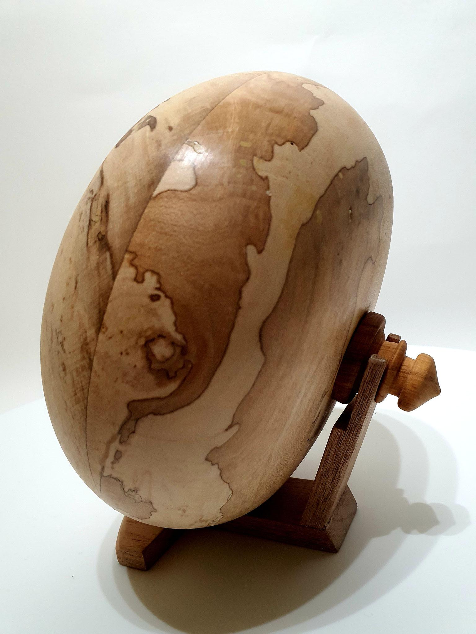 biologische design urn 500 ml   hout : esdoorn
