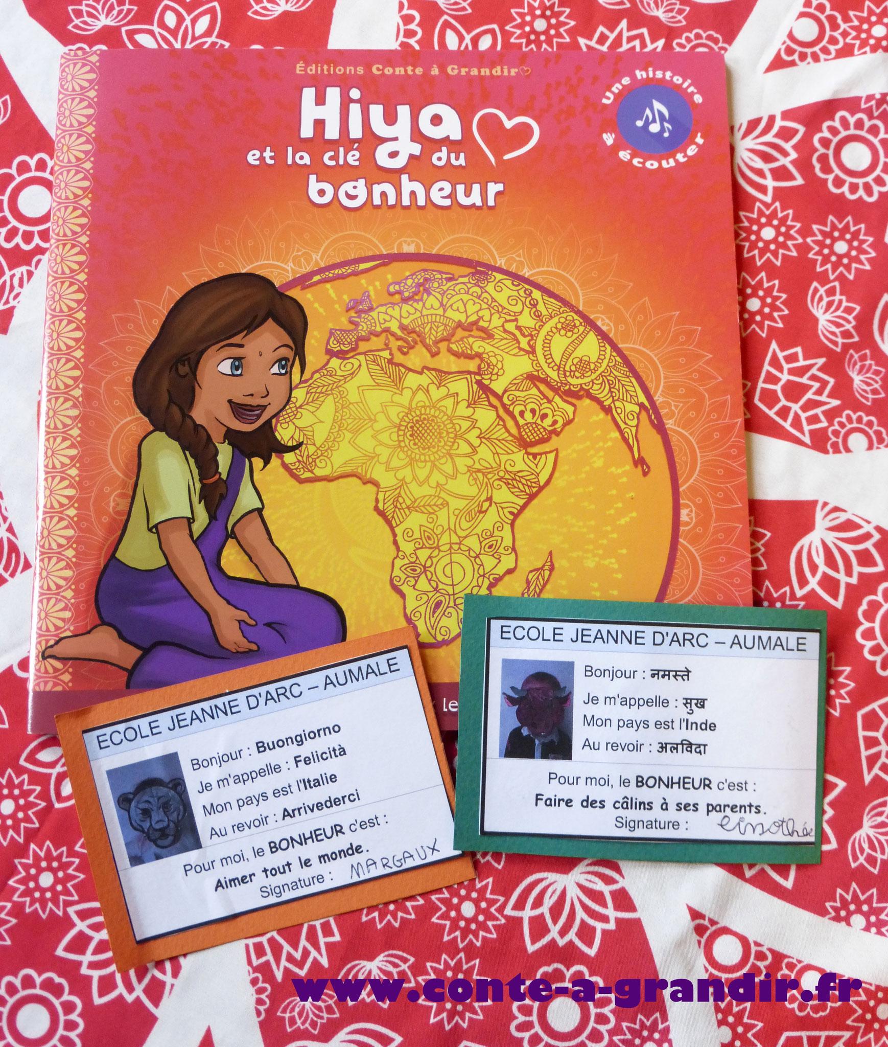 Philosophie, école, maternelle, primaire, conte Hiya et la clé du bonheur