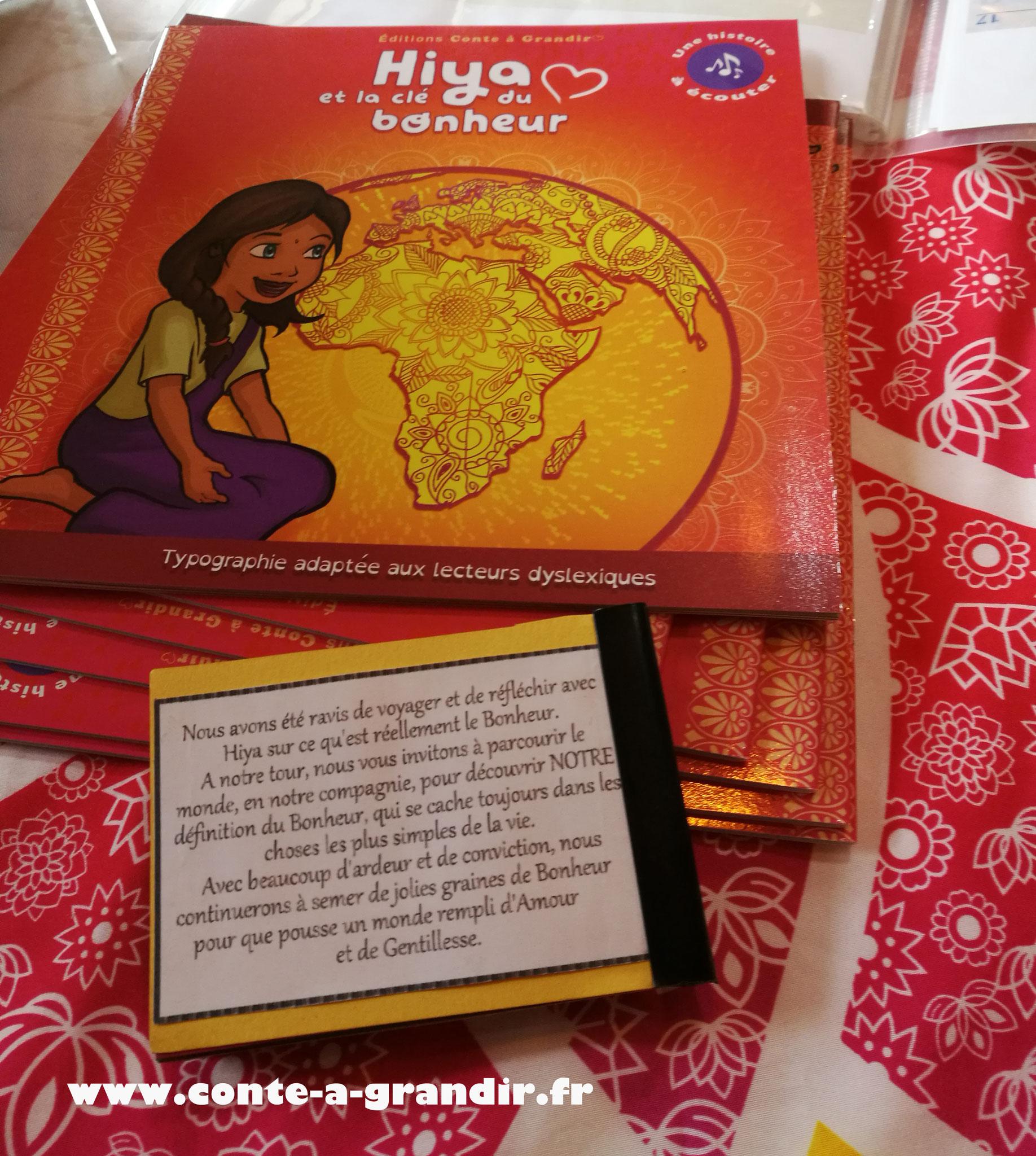 Conte Hiya et la clé du bonheur étudié en école maternelle et primaire