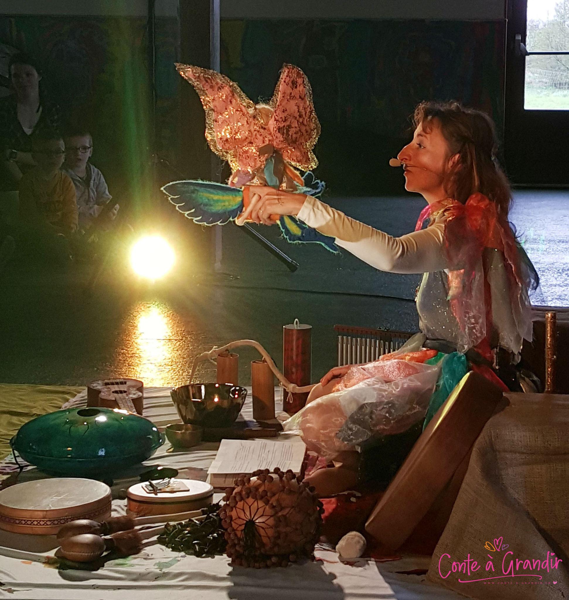 conte, marionnette, spectacle enfant, vendée