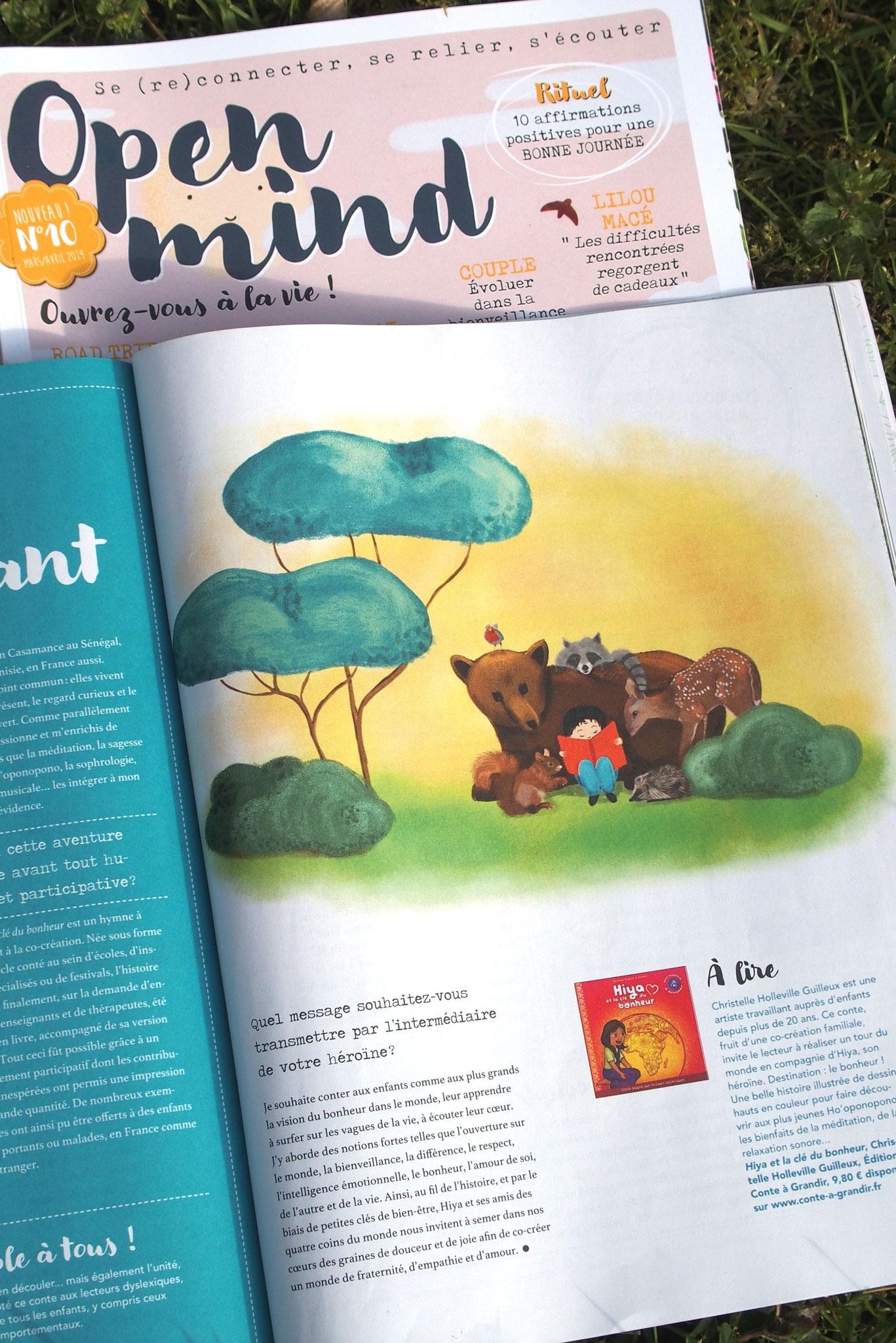 contes pour enfants Open Mind magazine
