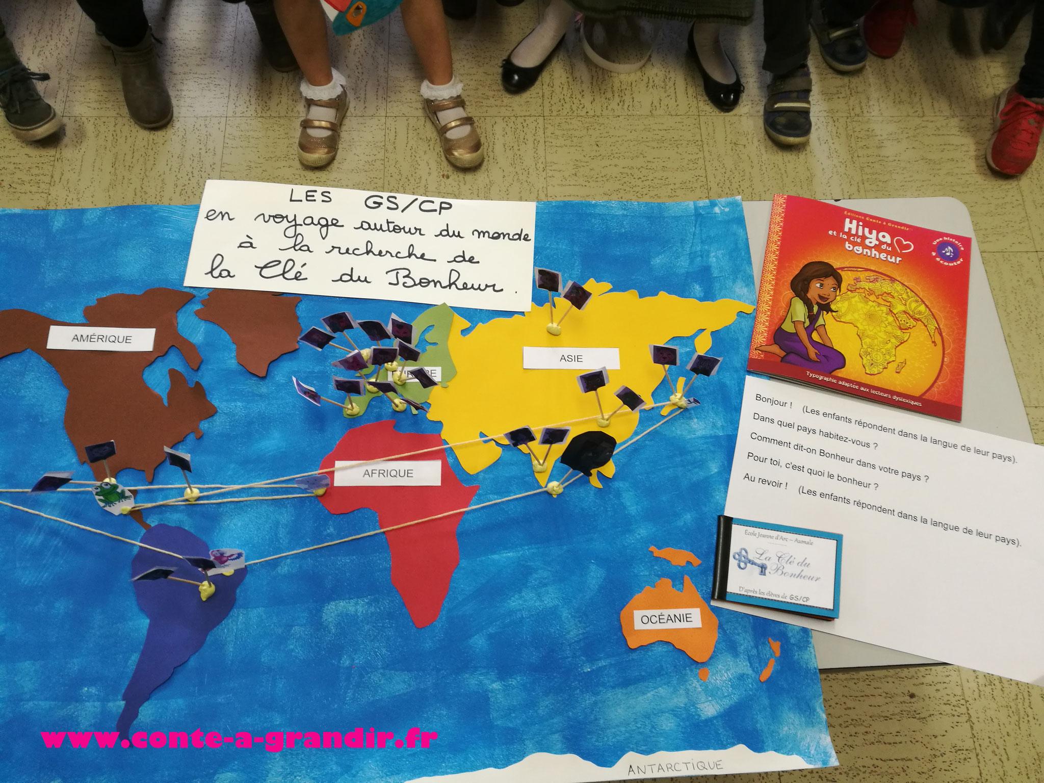 Conte Hiya et la clé du bonheur étudié en école maternelle et primaire, ouverture sur le monde