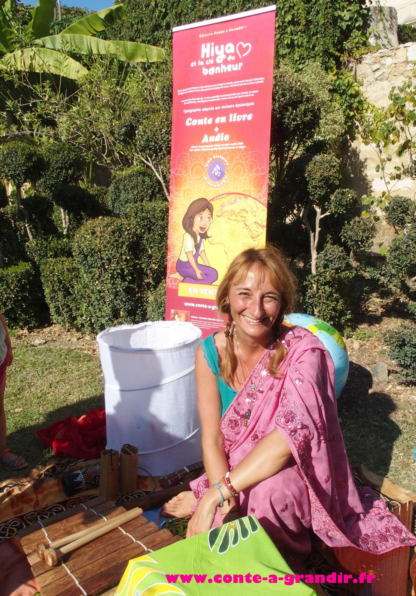 Le conte Hiya et la clé du bonheur au Festival pour l'école de la vie