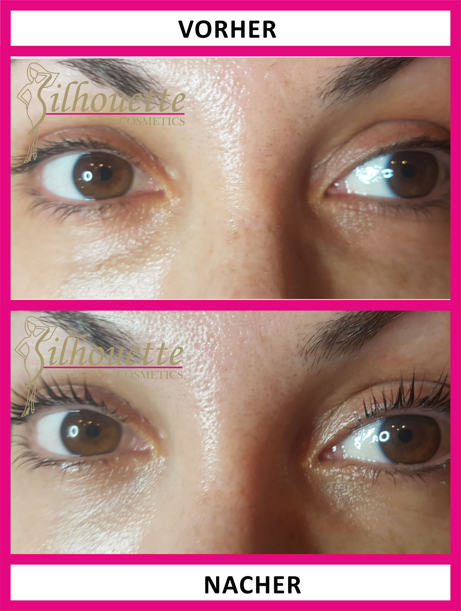 Wimpernwelle Silhouette Cosmetics Inviduelle Kosmetik Behandlungen