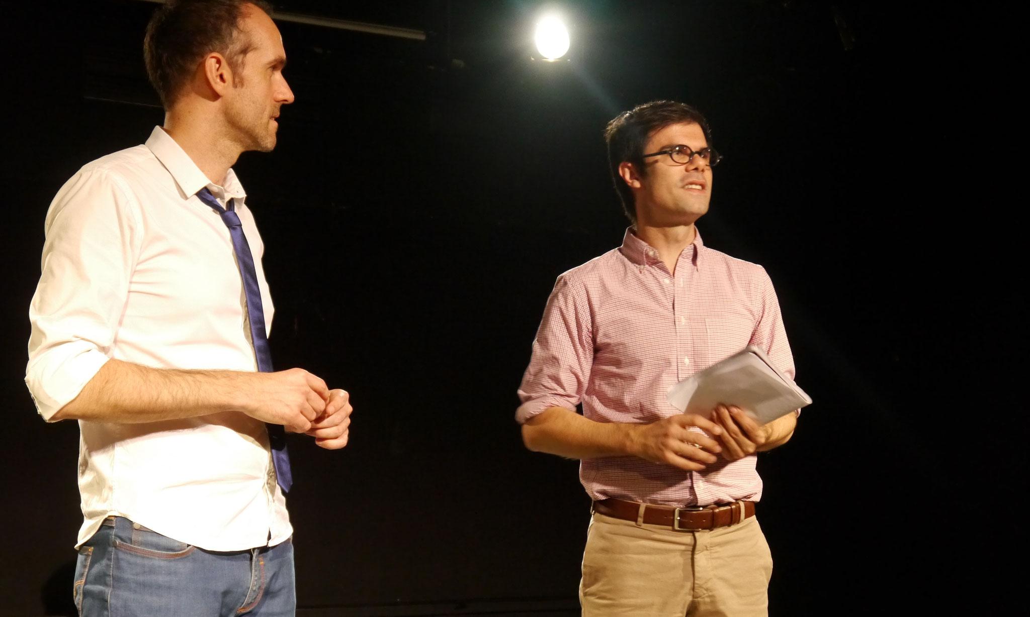 """""""Tête de lecture"""" avec Mathieu Simonet © cie Tête chercheuse"""