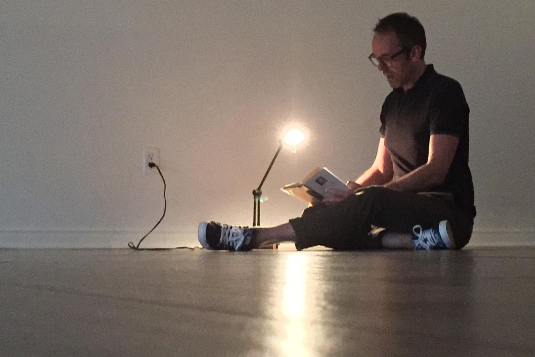 Séquence de la Page Proust - Galerie Action Art Actuel (Québec) © cie Tête chercheuse