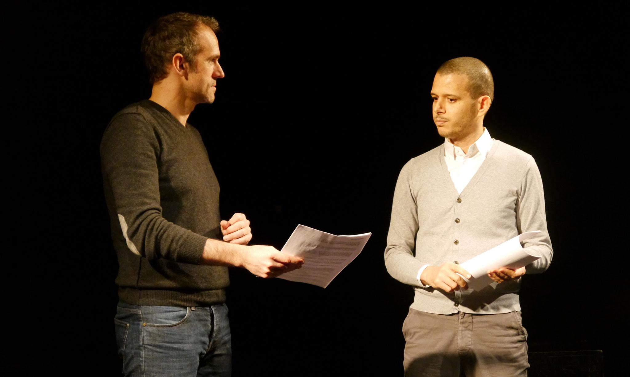 """""""Tête de lecture"""" avec Abdellah Taïa © cie Tête chercheuse"""
