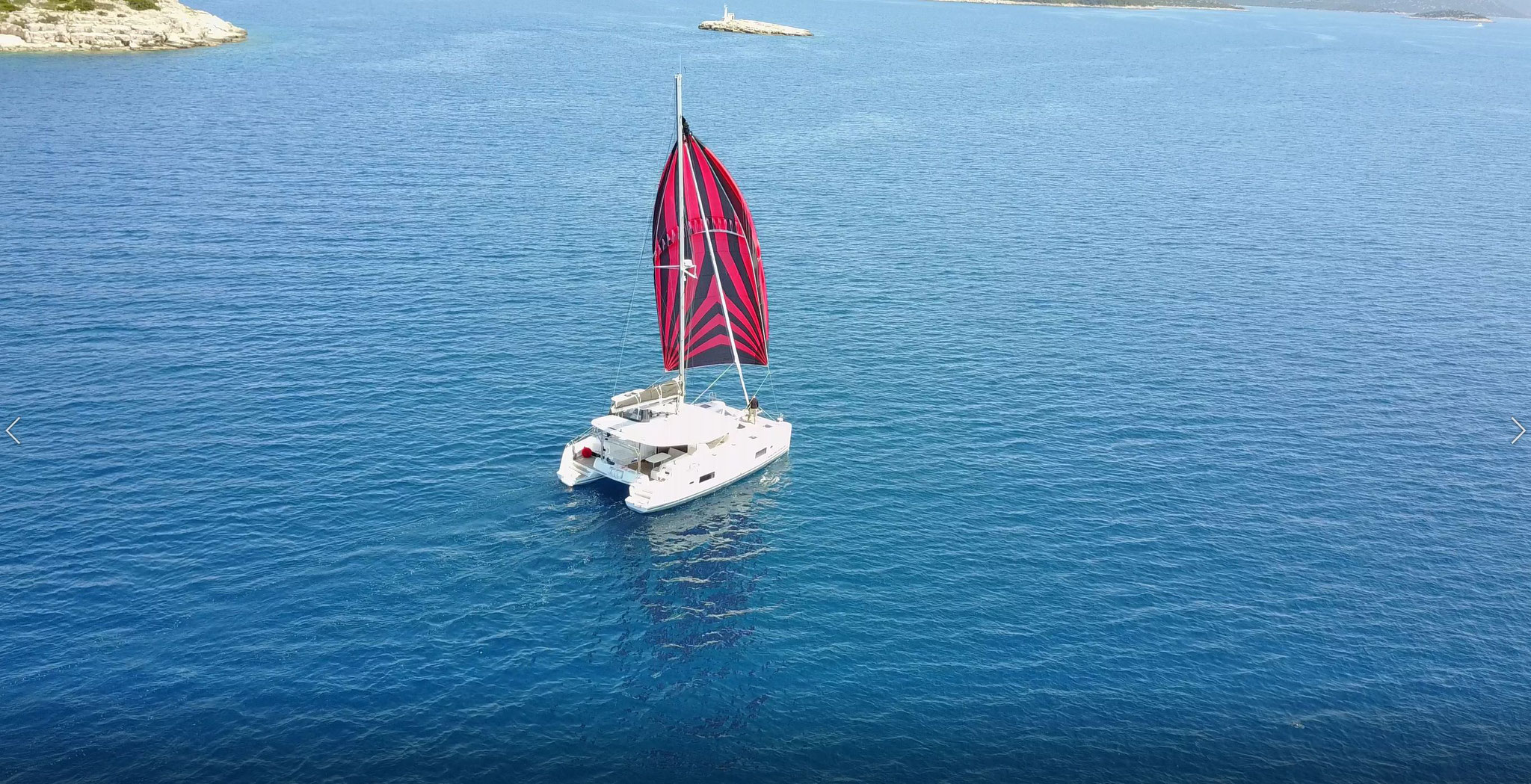 Karamaran fahren mit Lagoon 42  -     www.katamarantraum.com