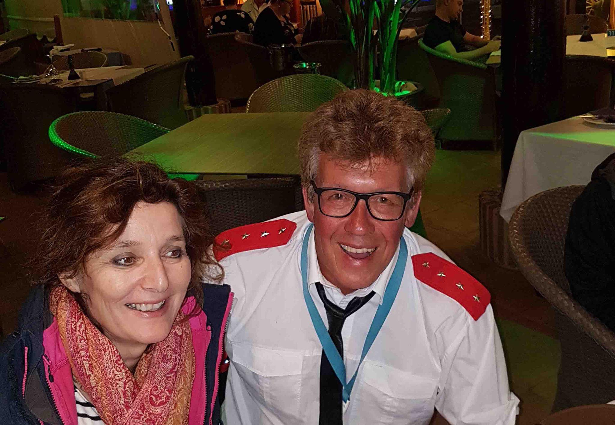 Segelfan Elena auf Teneriffa - Katamarantraining Februar 2019