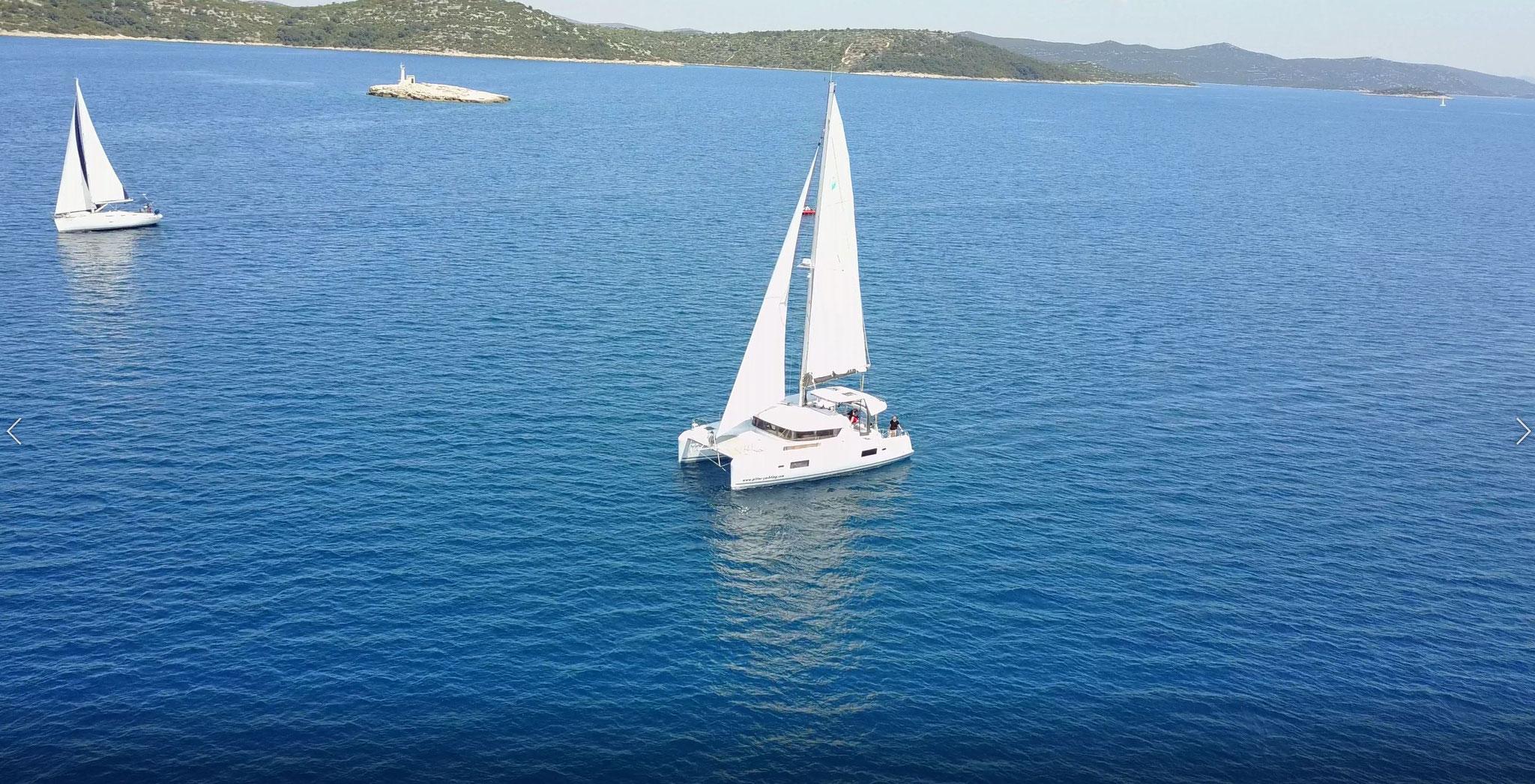Katamaran Reisen als Hochseesegeln von Kroatien nach Teneriffa - www.katamaramtraum.com