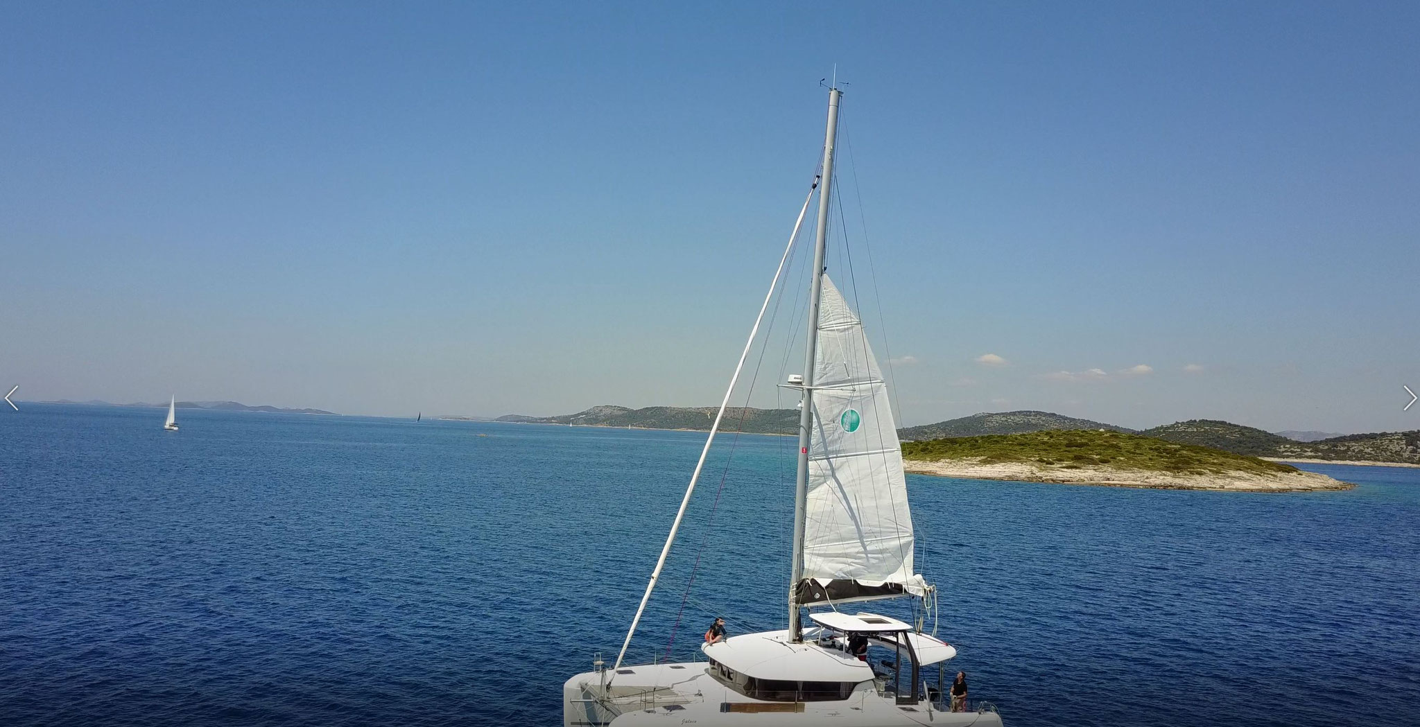 Katamaran segeln als Urlaubsreise - www.katamaramtraum.com