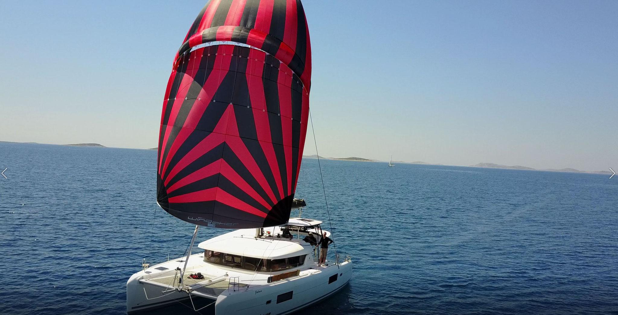 Karamaran fahren als Charter Kroatien von Mai bis September    -       www.katamarantraum.com