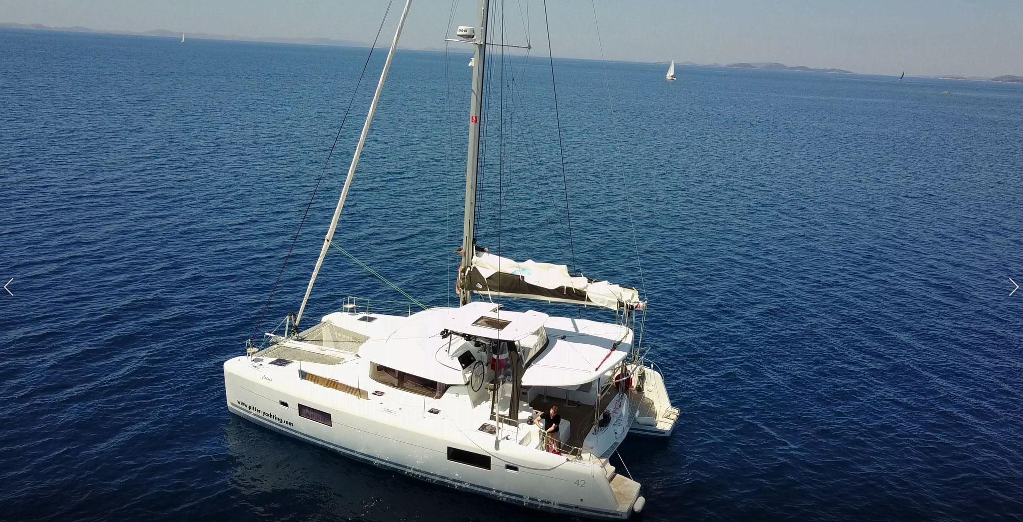 Katamaran segeln um einfach zu genießen - www.katamaramtraum.com