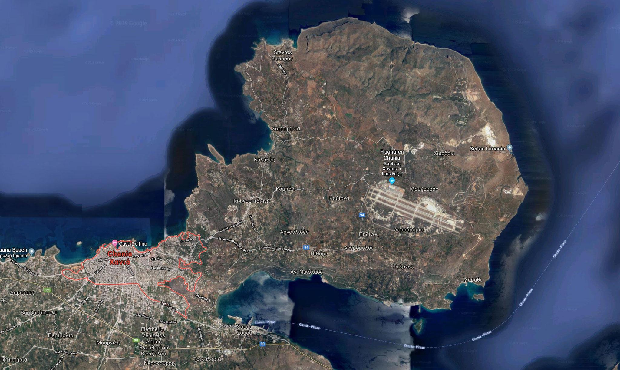 Chania auf Kreta - Griechenland, Katamatan Lagoon 42