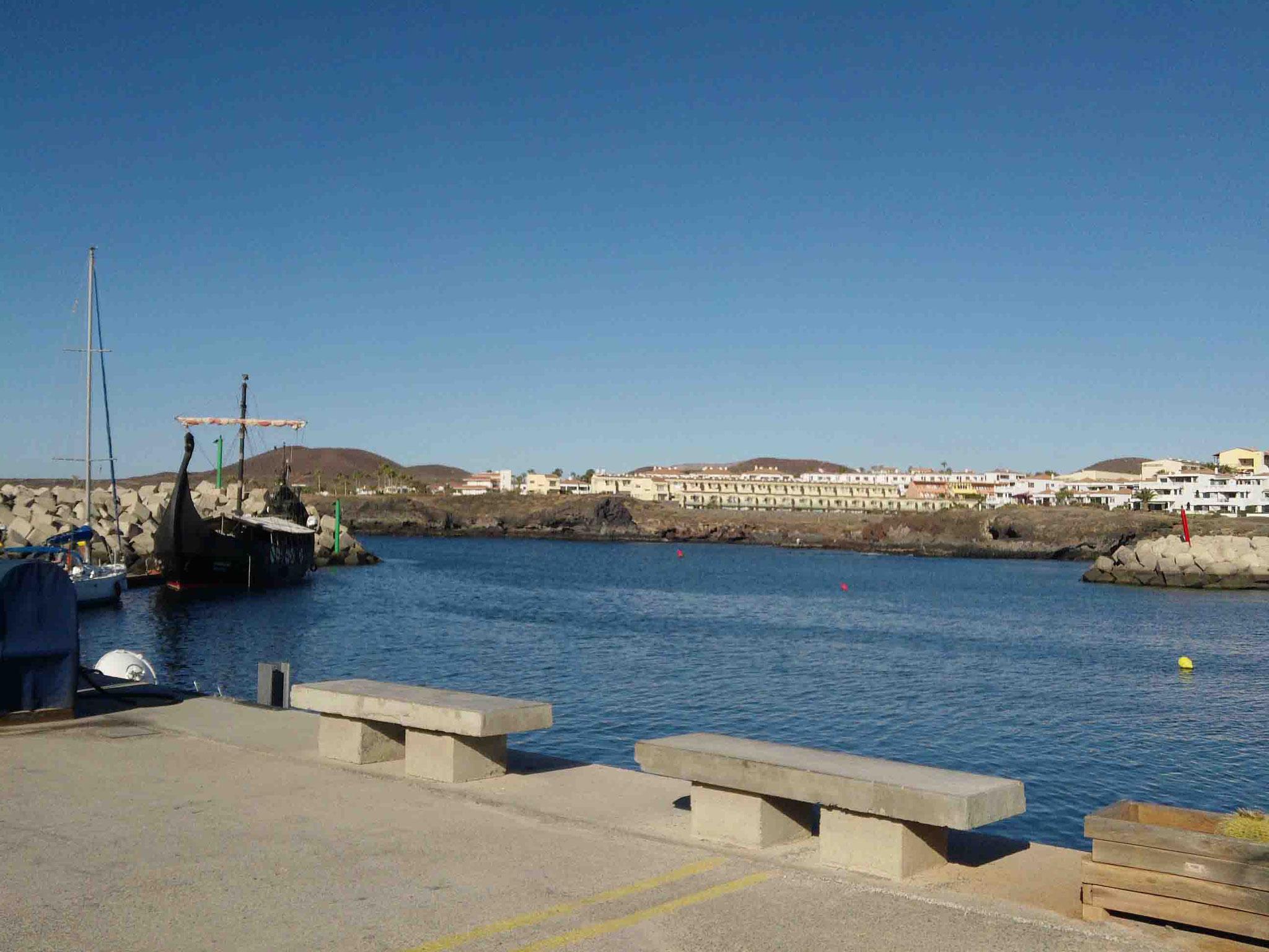 Hafenausfahrt Marina Saint Miguel - Teneriffa