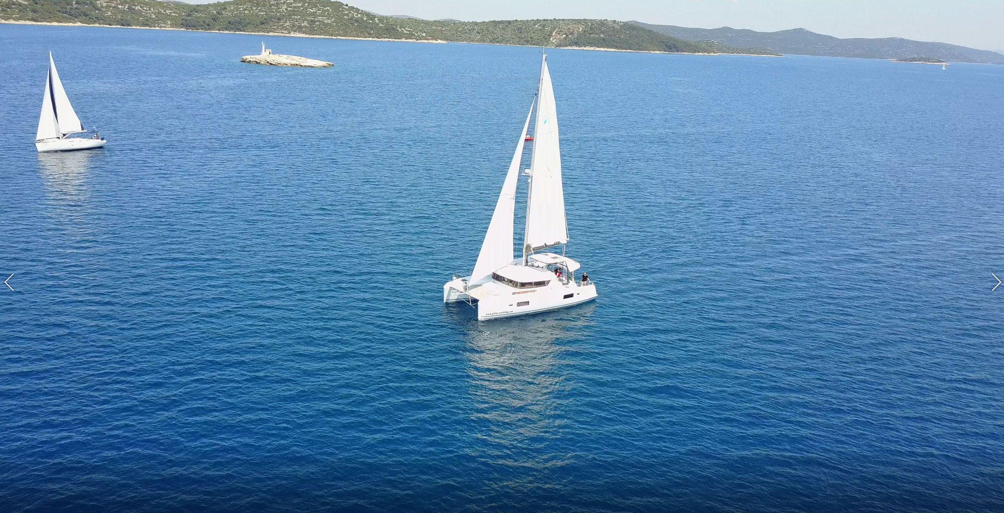 Katamaran segeln als Hochseesegeln von Kroatien nach den Kanaren - www.katamaramtraum.com