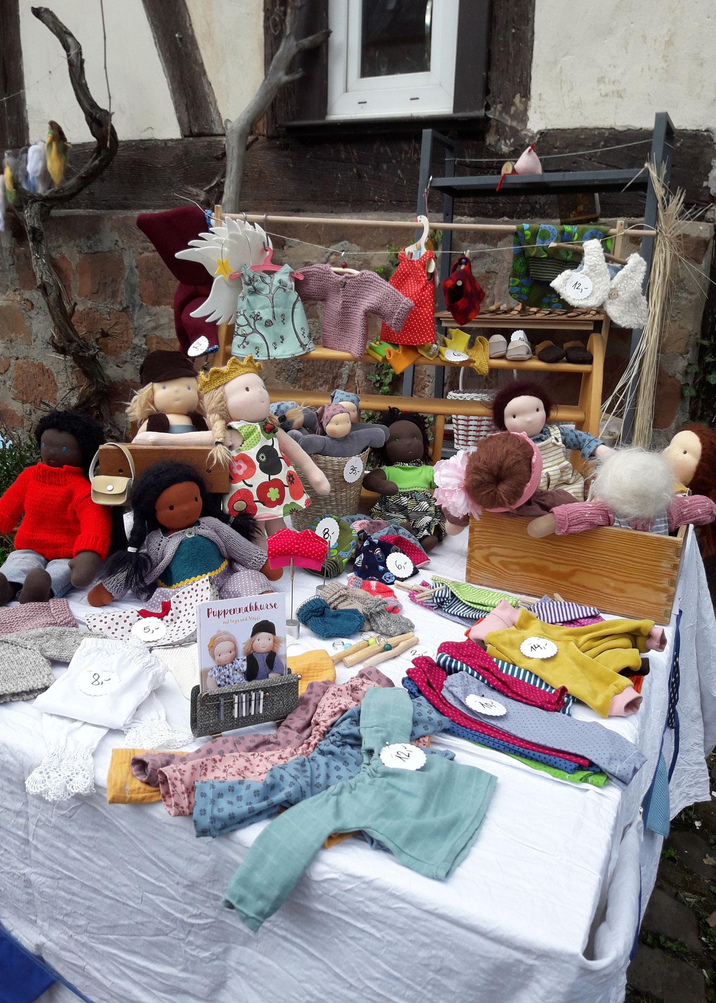 Waldorfpuppen (Frühlingsmarkt)