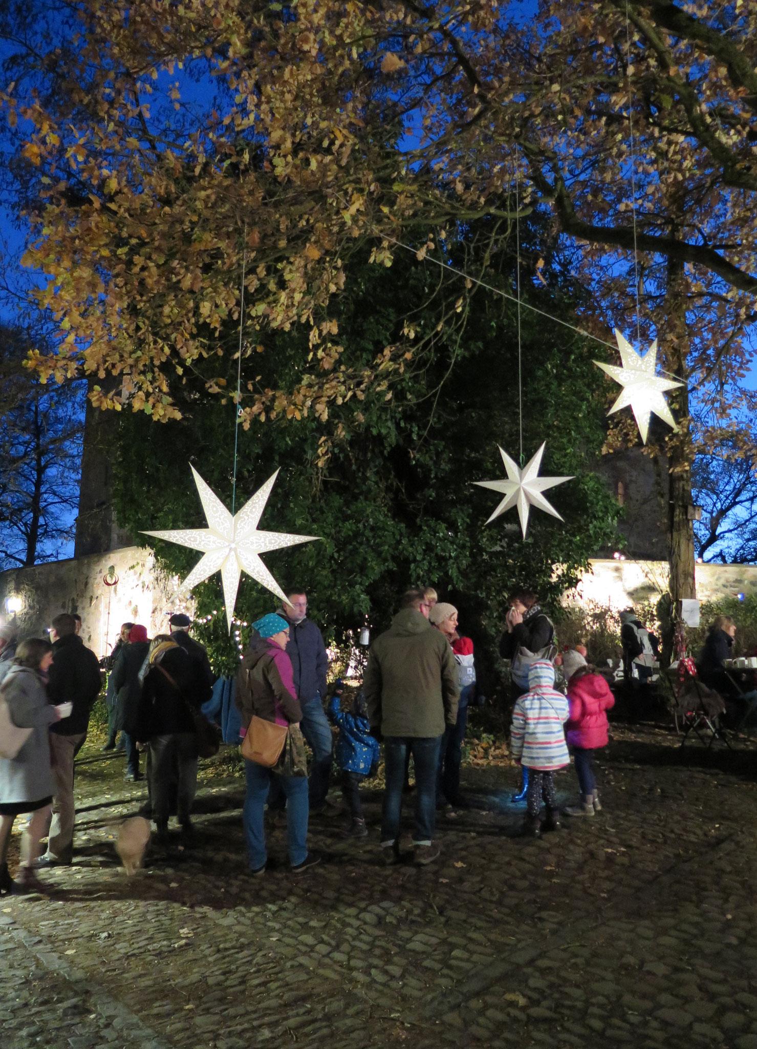 Lichterglanz beim Weihnachts-Zauber