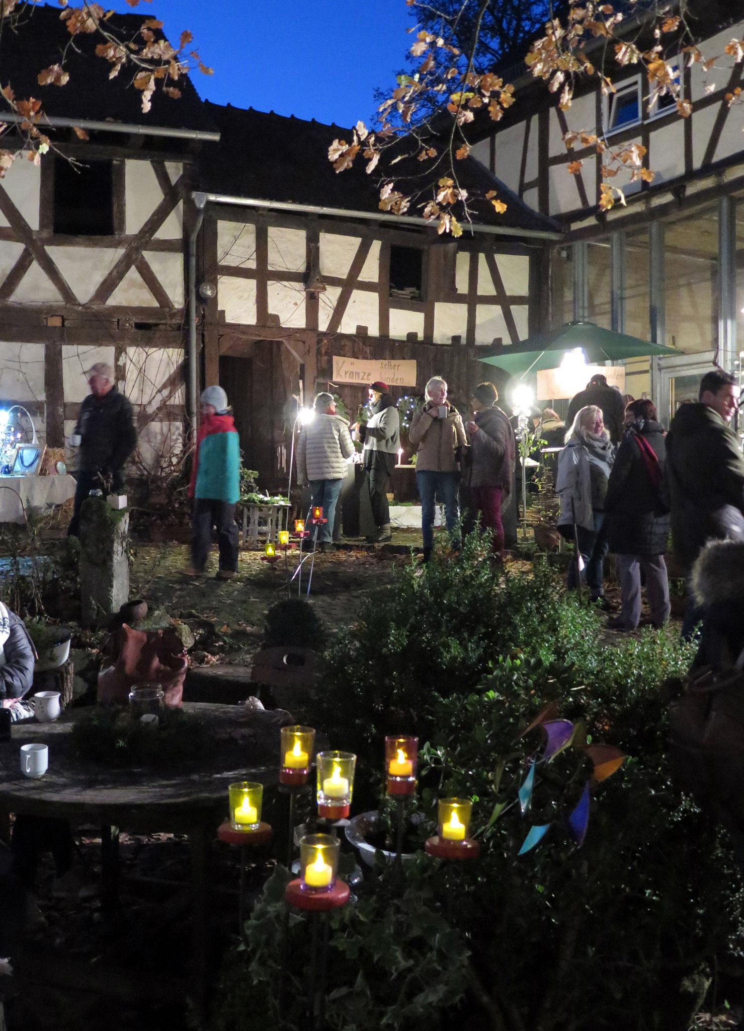 Volles Haus beim Weihnachts-Zauber