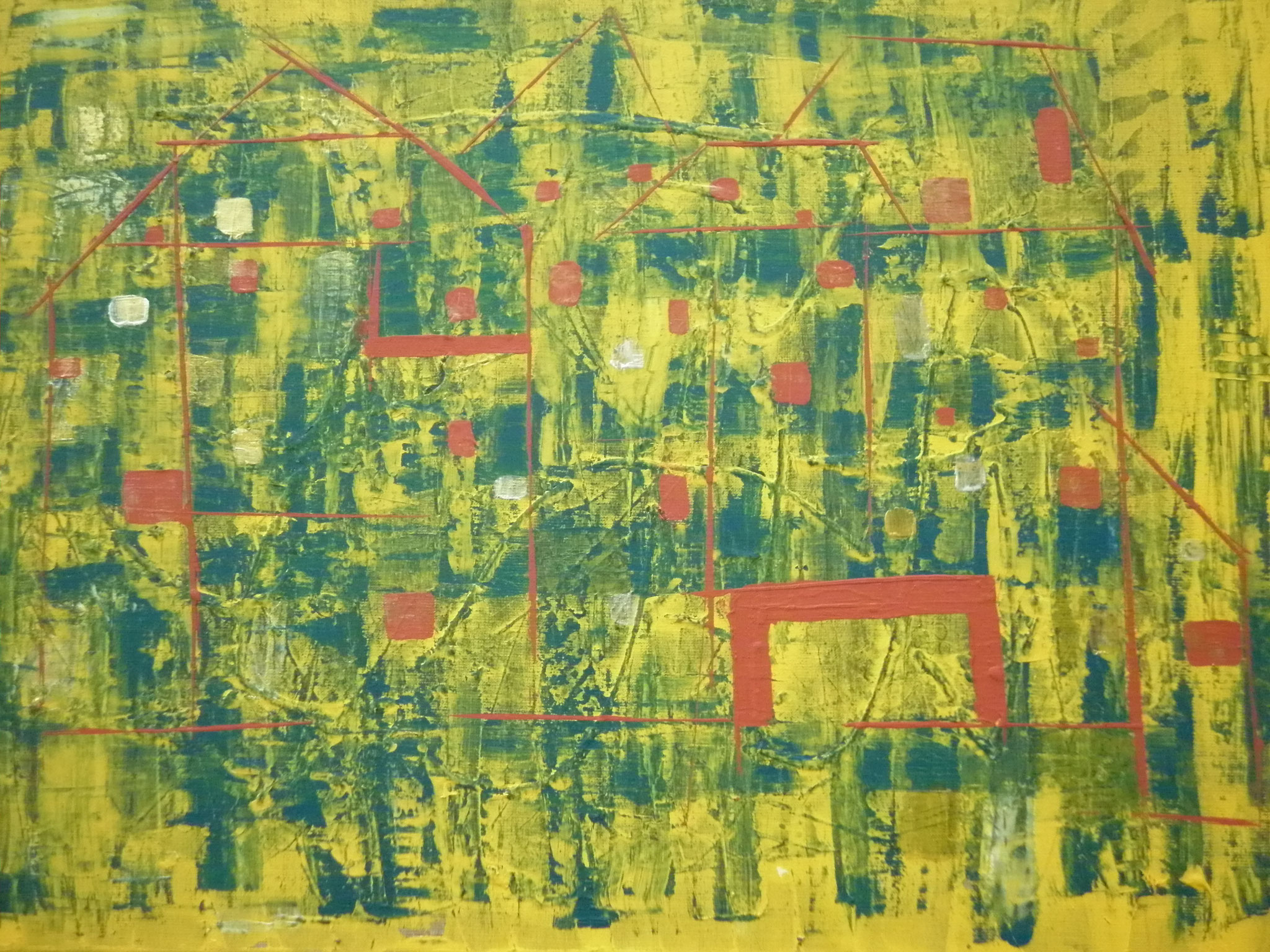 Bild-Nr. 236 Ausblick  © Maß 60 x 80 Acryl/Leinwand auf Keilrahmen