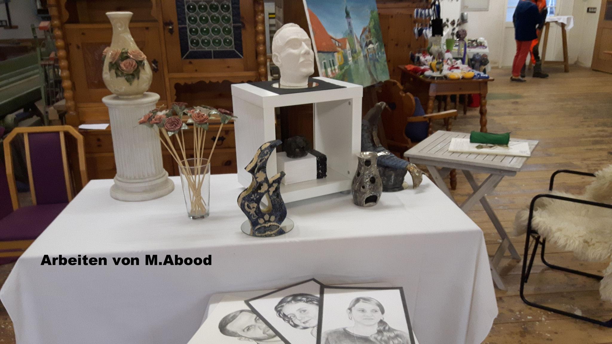 Keramik, Bilder u.a.m.