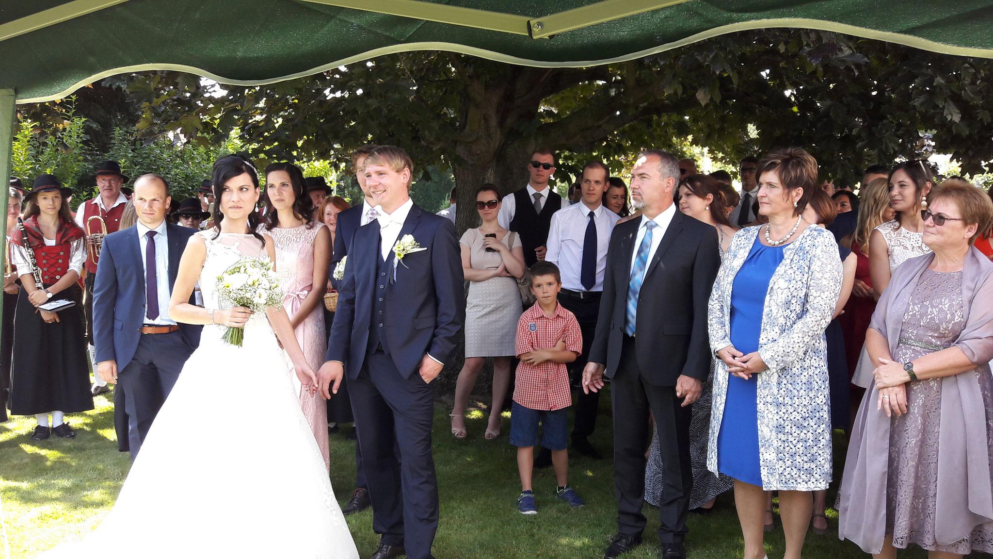 Thomas Gleiß Hochzeit