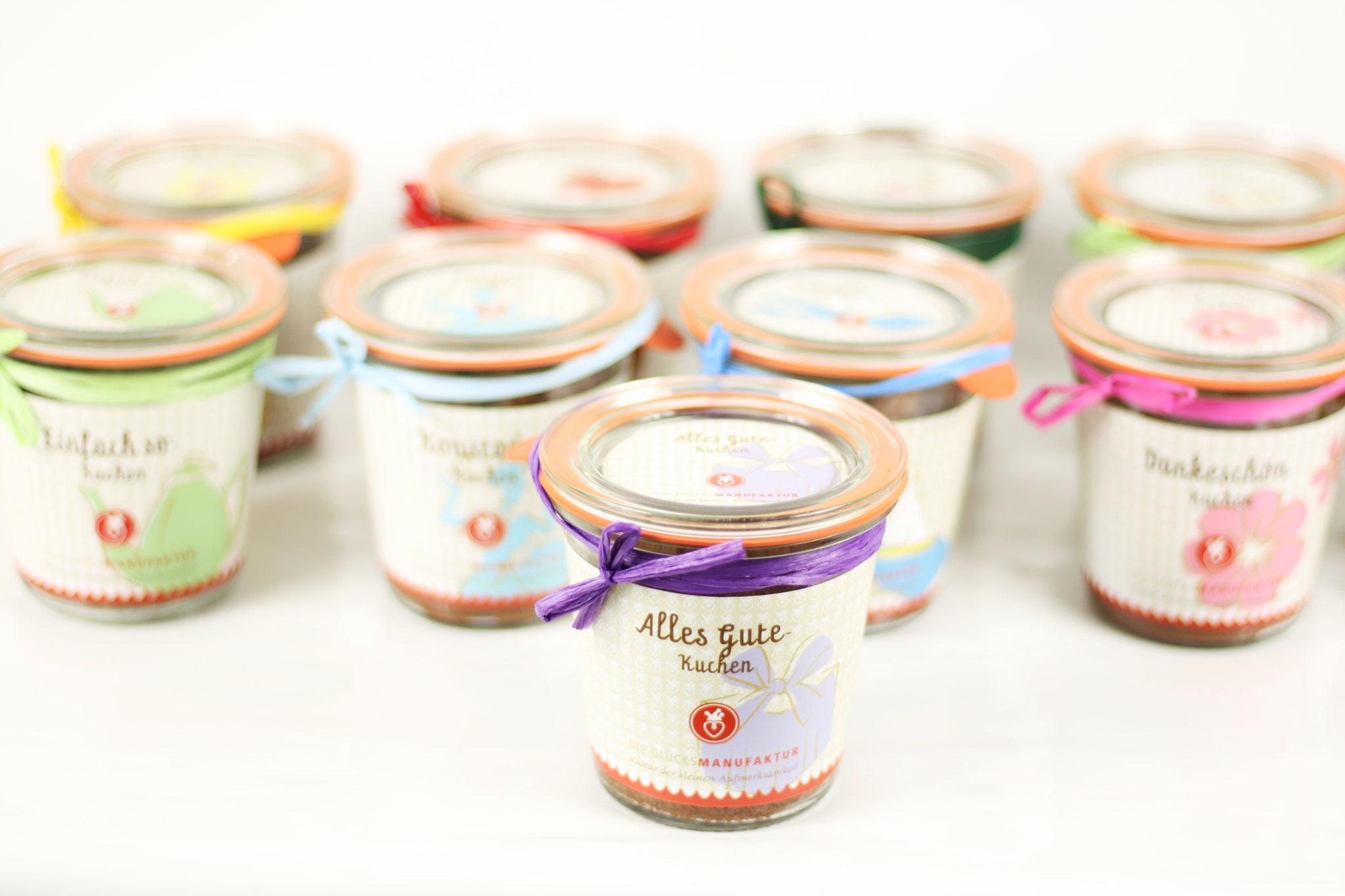 Die Glucksmanufaktur Kuchen Im Glas Fur Jede Gelegenheit Bestellen
