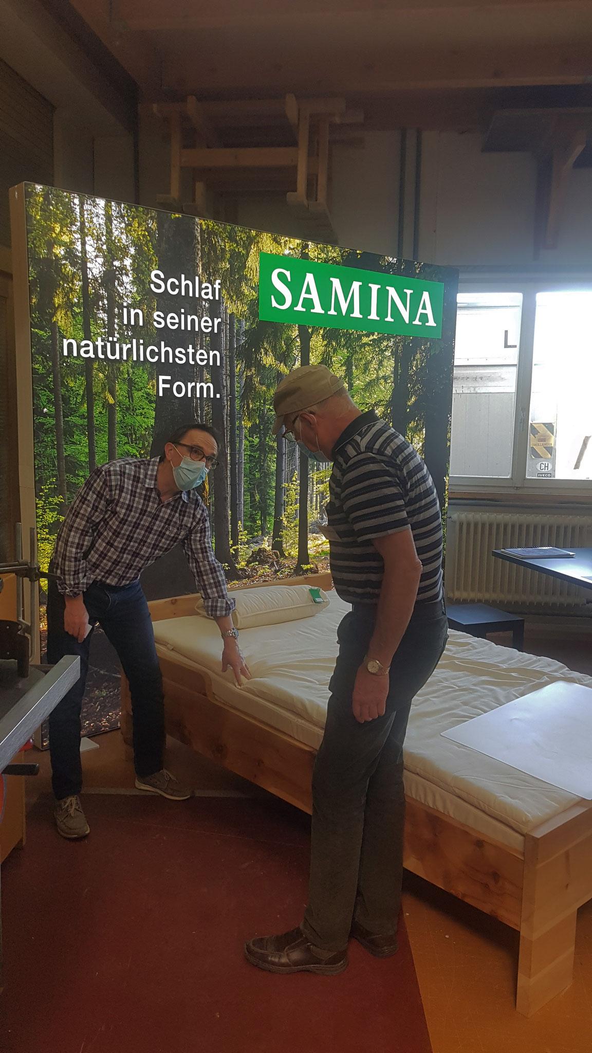 Samina Schlafsystem