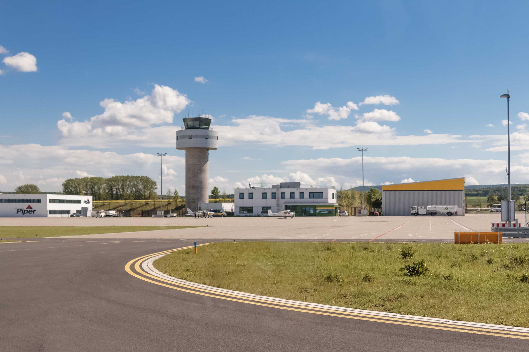 Abflug ab Airport Kassel-Calden
