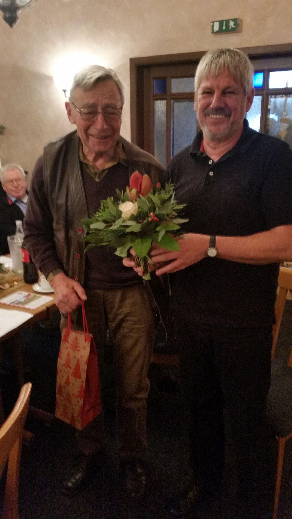 von links Dr.Otto Edert und Uwe Anders