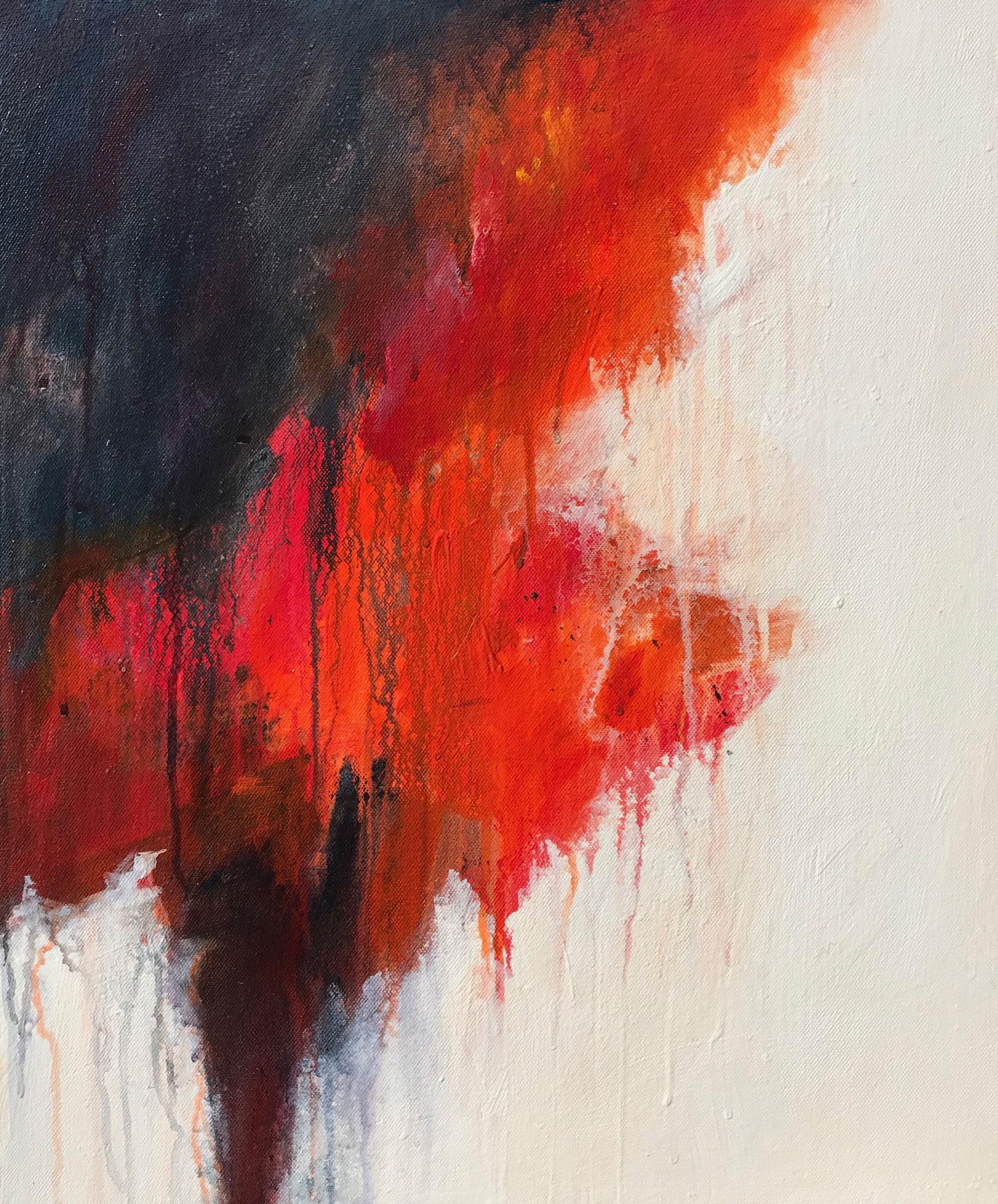 Les Enfers # 1 - 55 x 46 cm - Acrylique sur toile - 2019