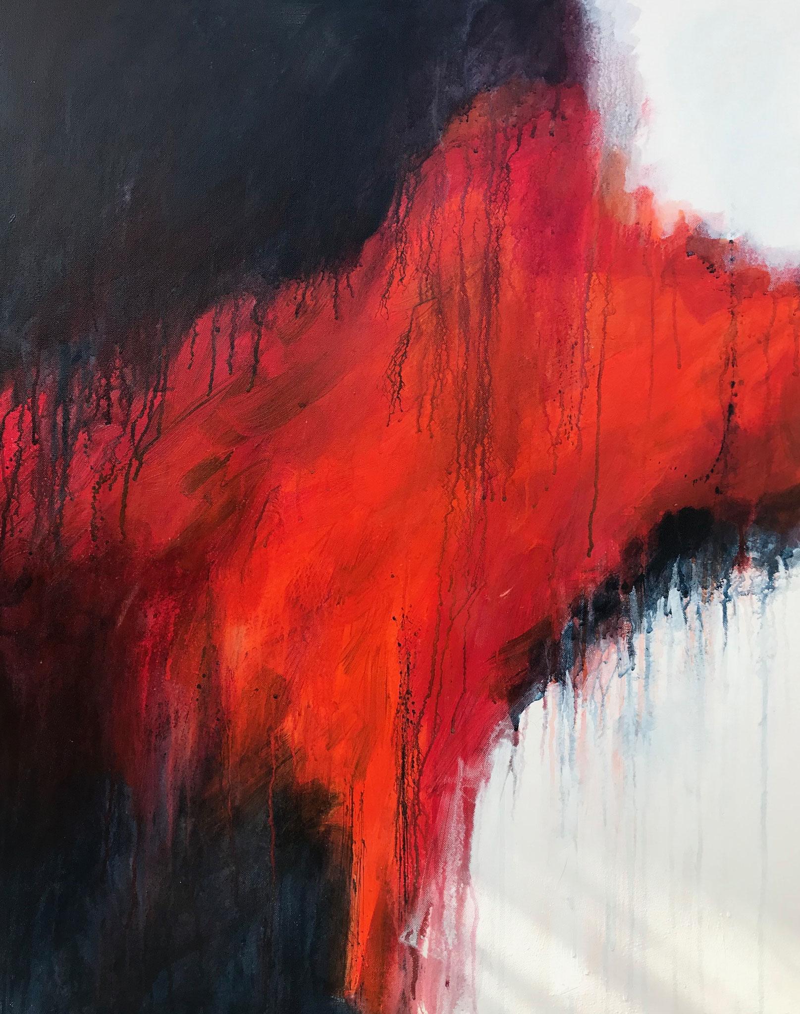 Les Enfers # 3 - 92 x 73 cm - Acrylique sur toile - 2019