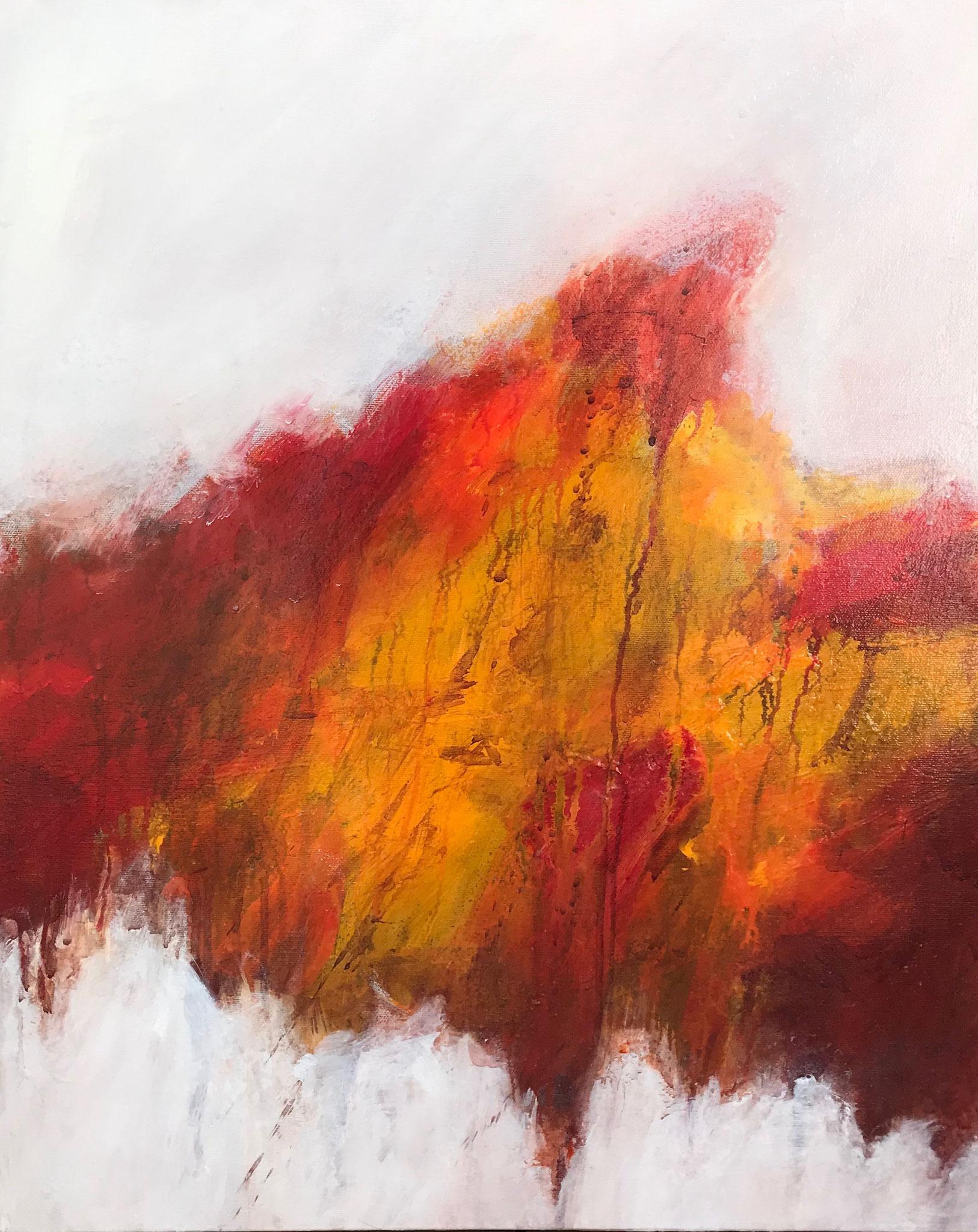 Le Châtiment # 1 - 65 x 54 cm - Acrylique sur toile - 2019