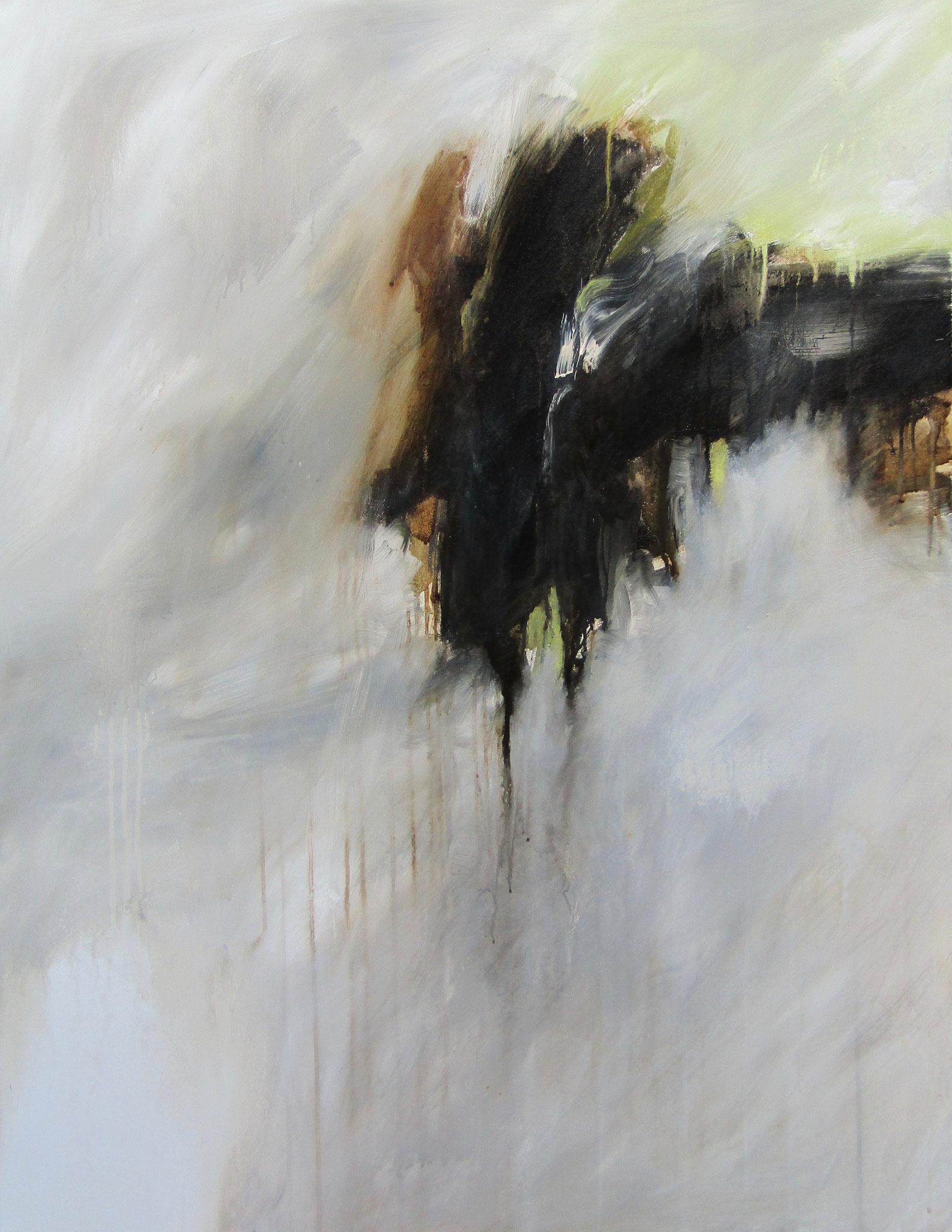 """Série """"Les Montagnes Blanches"""" - L'Envol - 116 x 89 cm - 2012"""