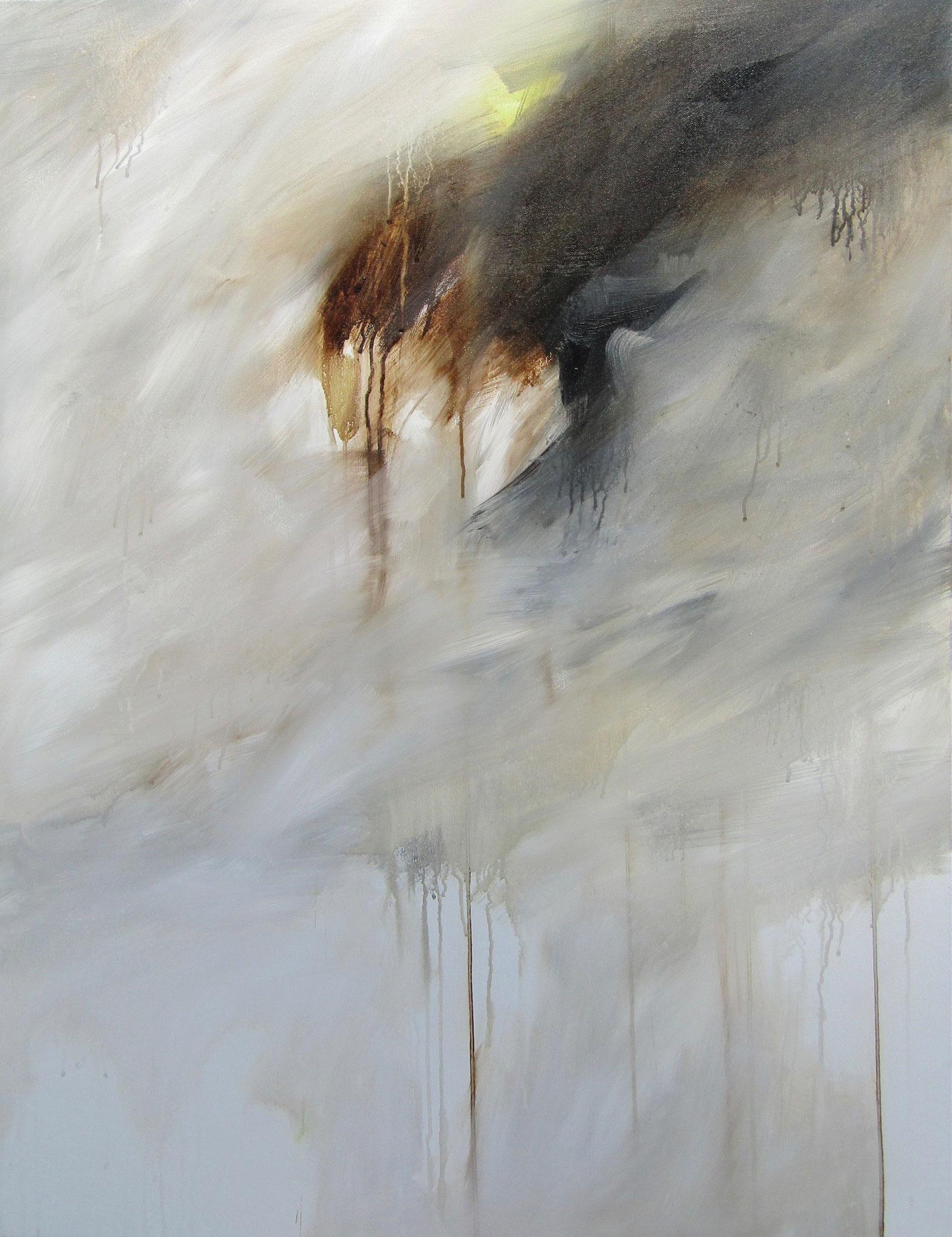 """Série """"Les Montagnes Blanches"""" - Le Vertige - 116 x 89 cm - 2012"""