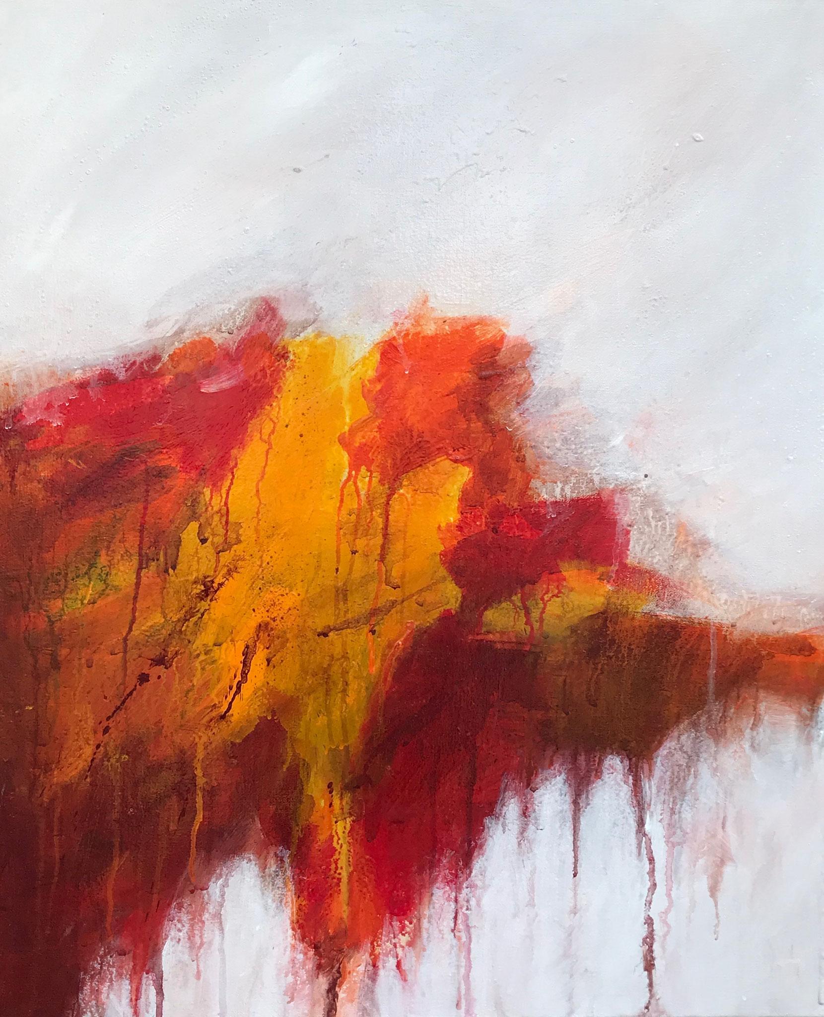 Le Châtiment # 2 - 65 x 54 cm - Acrylique sur toile - 2019