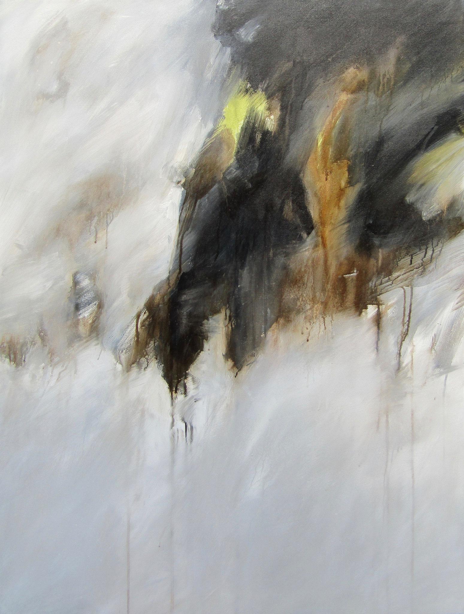 """Série """"Les Montagnes Blanches"""" - L'Echappée - 116 x 89 cm - 2012"""