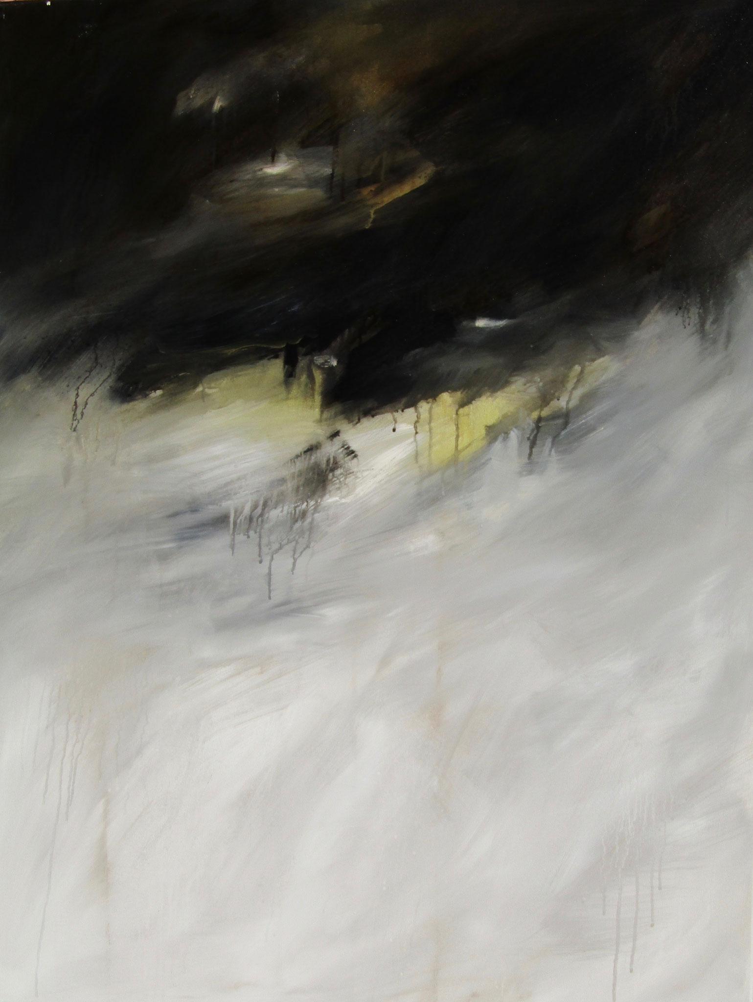 """Série """"Les Montagnes Blanches"""" - Le Défi - 116 x 89 cm - 2012"""