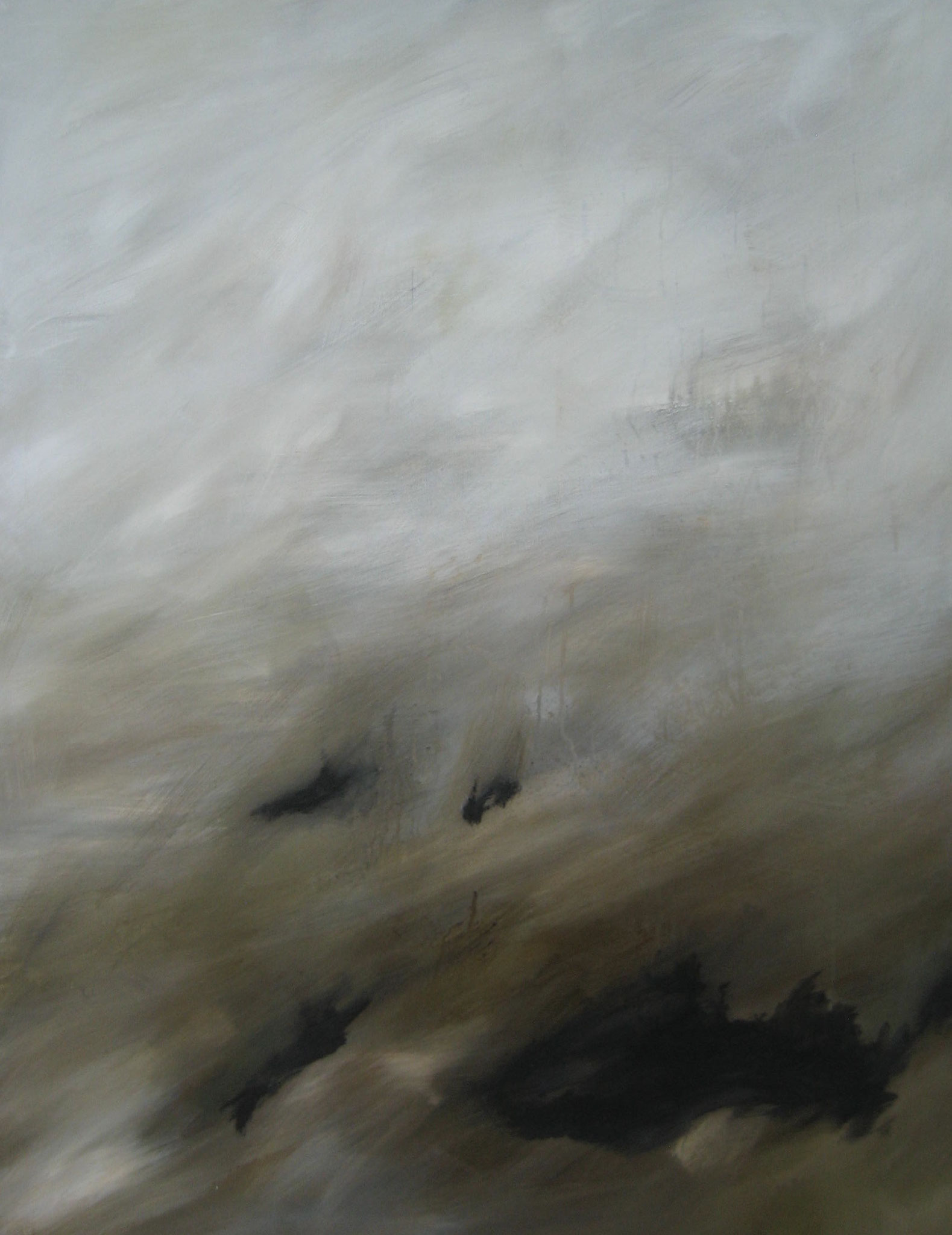 """Série """"Les Montagnes Blanches"""" - Le Piège - 116 x 89 cm - 2012"""
