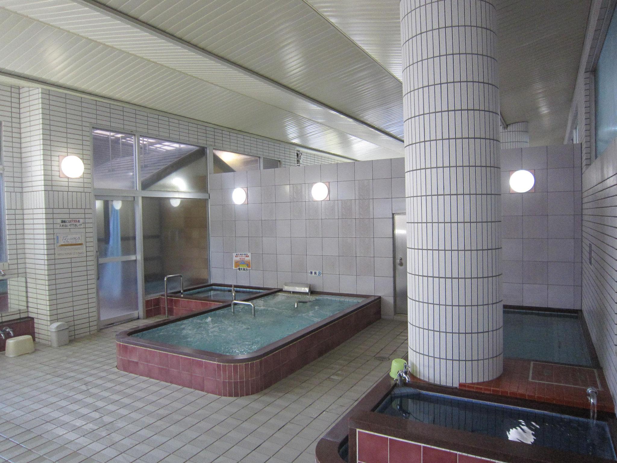 浴室(女性の浴室です)