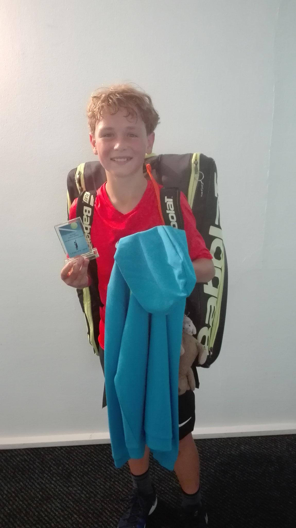 Jungen U12: Sieger Maximilian Drescher.