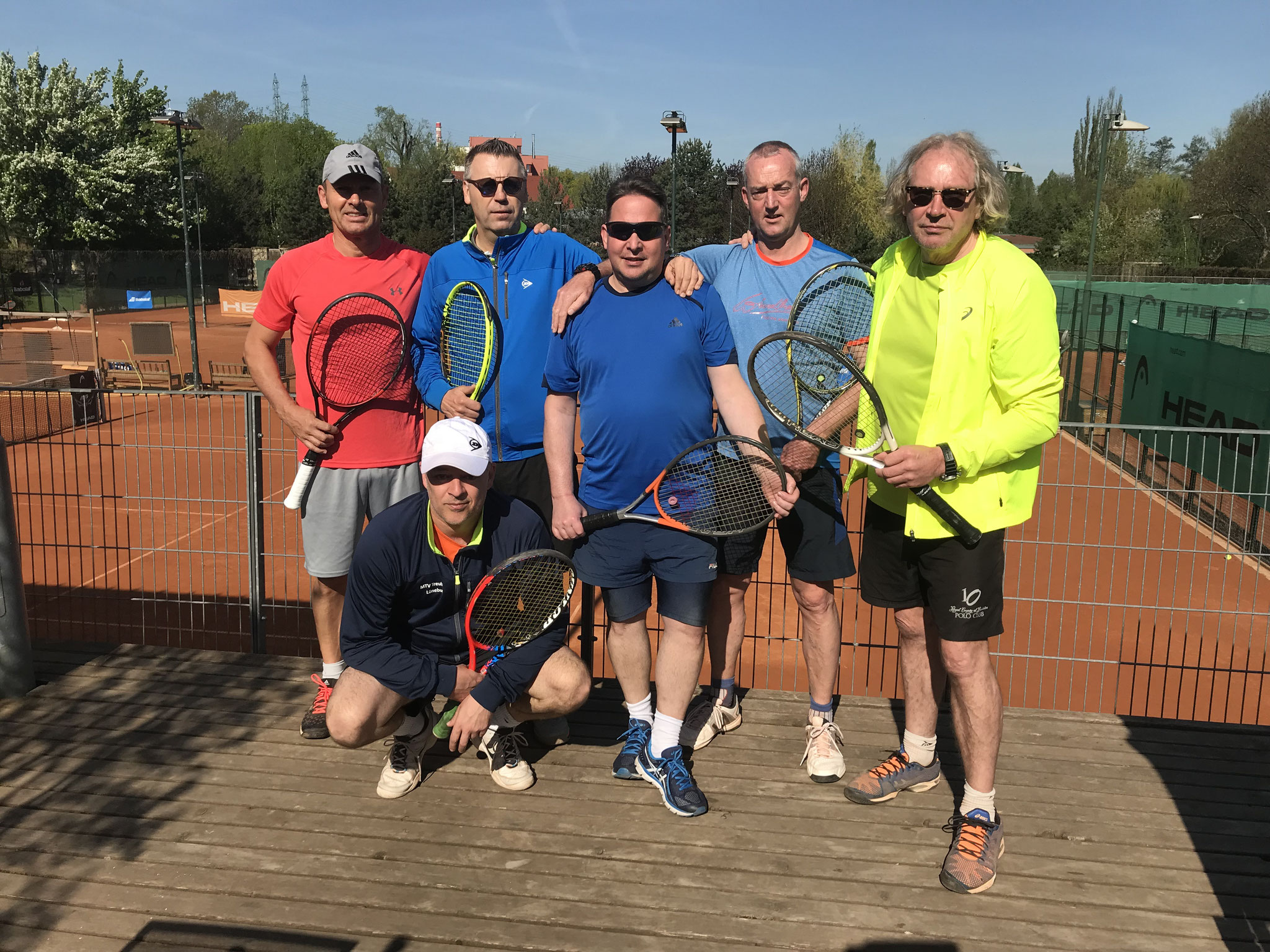 Tenniscamp im Prag  Mai 2018