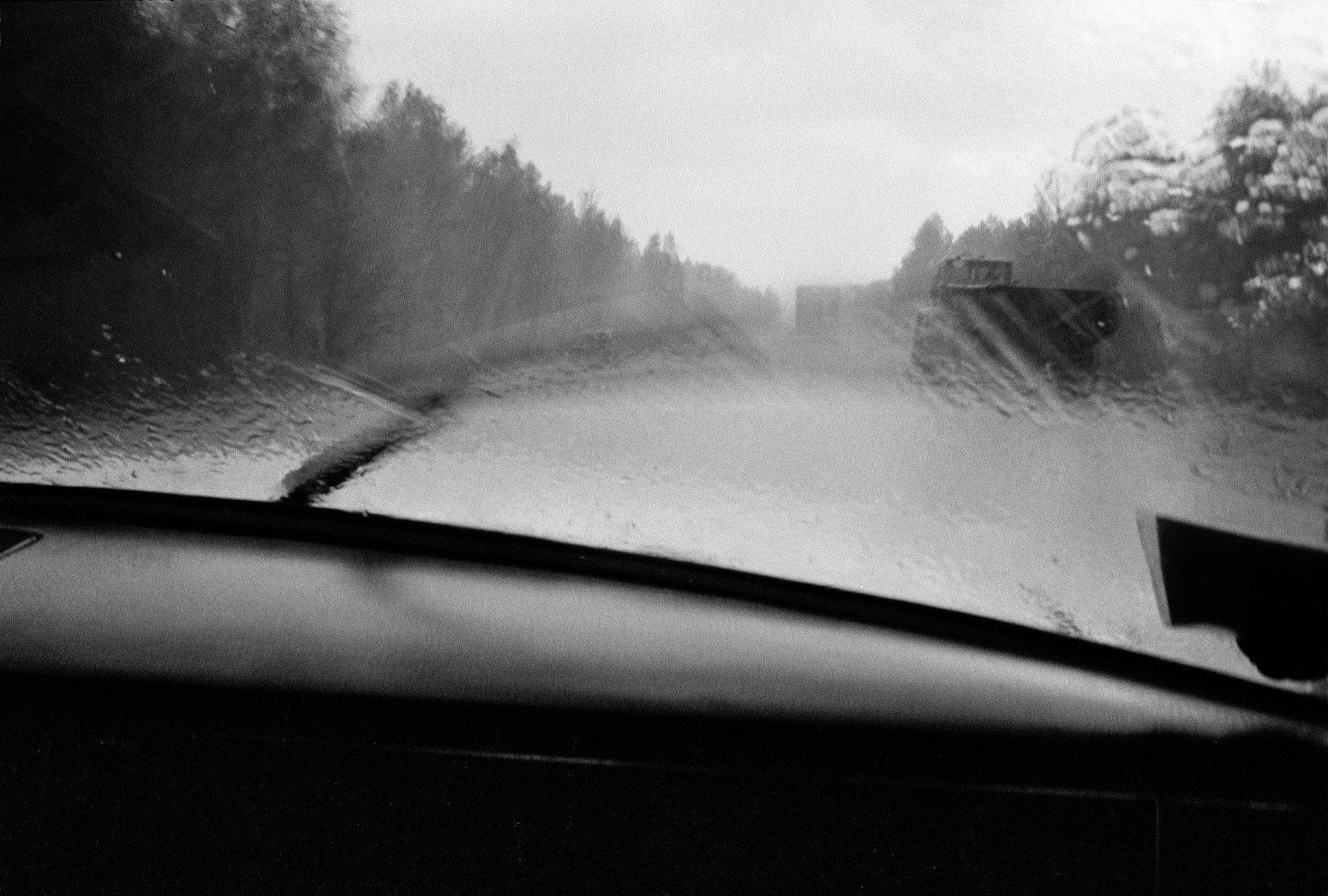 Auf dem Weg nach Moskau