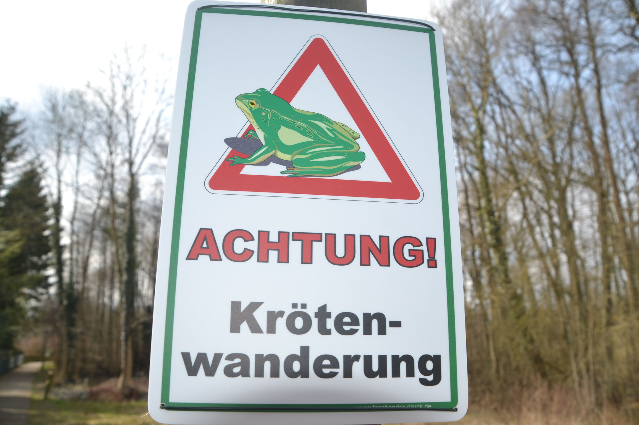 Berechtigte Warnung