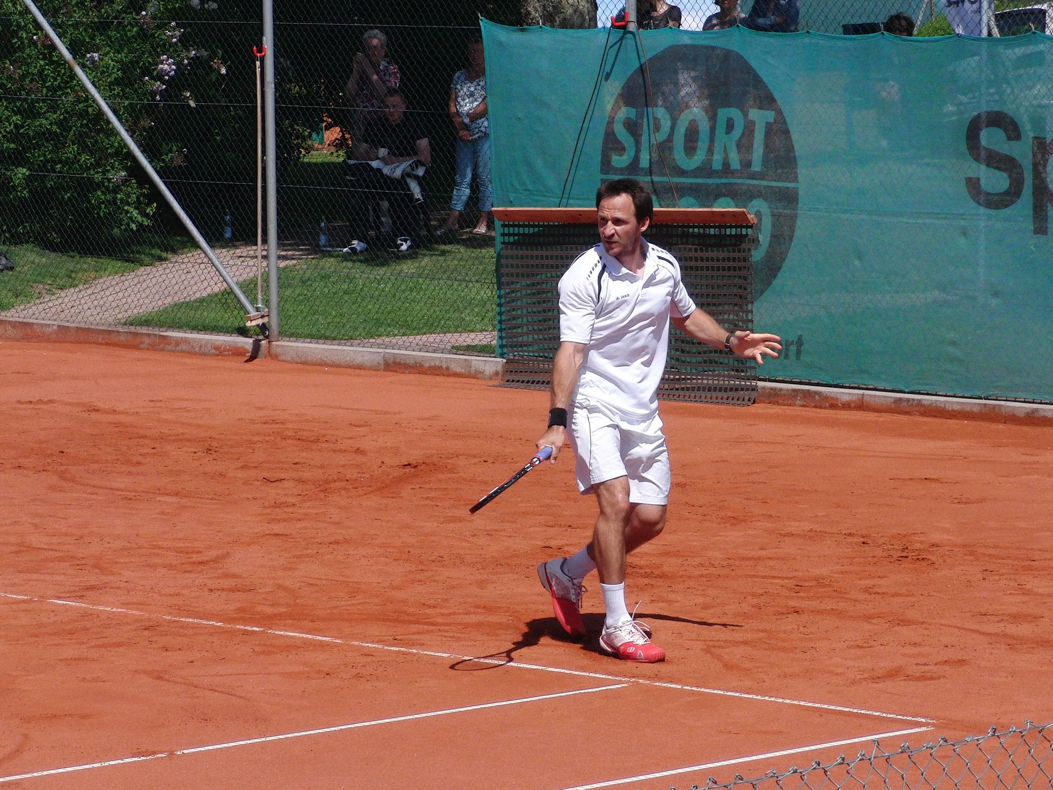 Slideshow - Turniersieger Andre Wiesler (TC Wolfsberg-Pforzheim)
