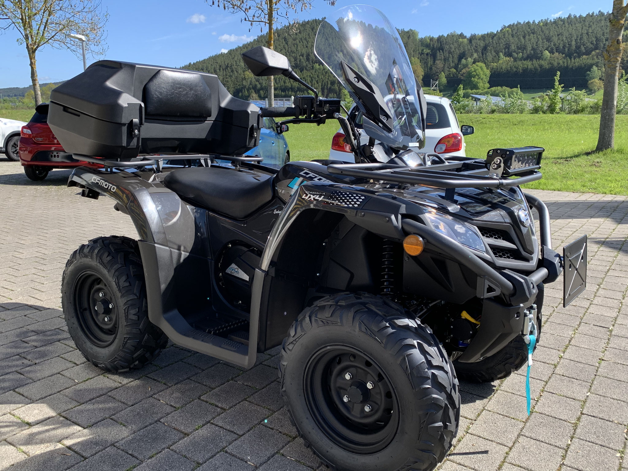 CF MOTO CForce 450 on Touring